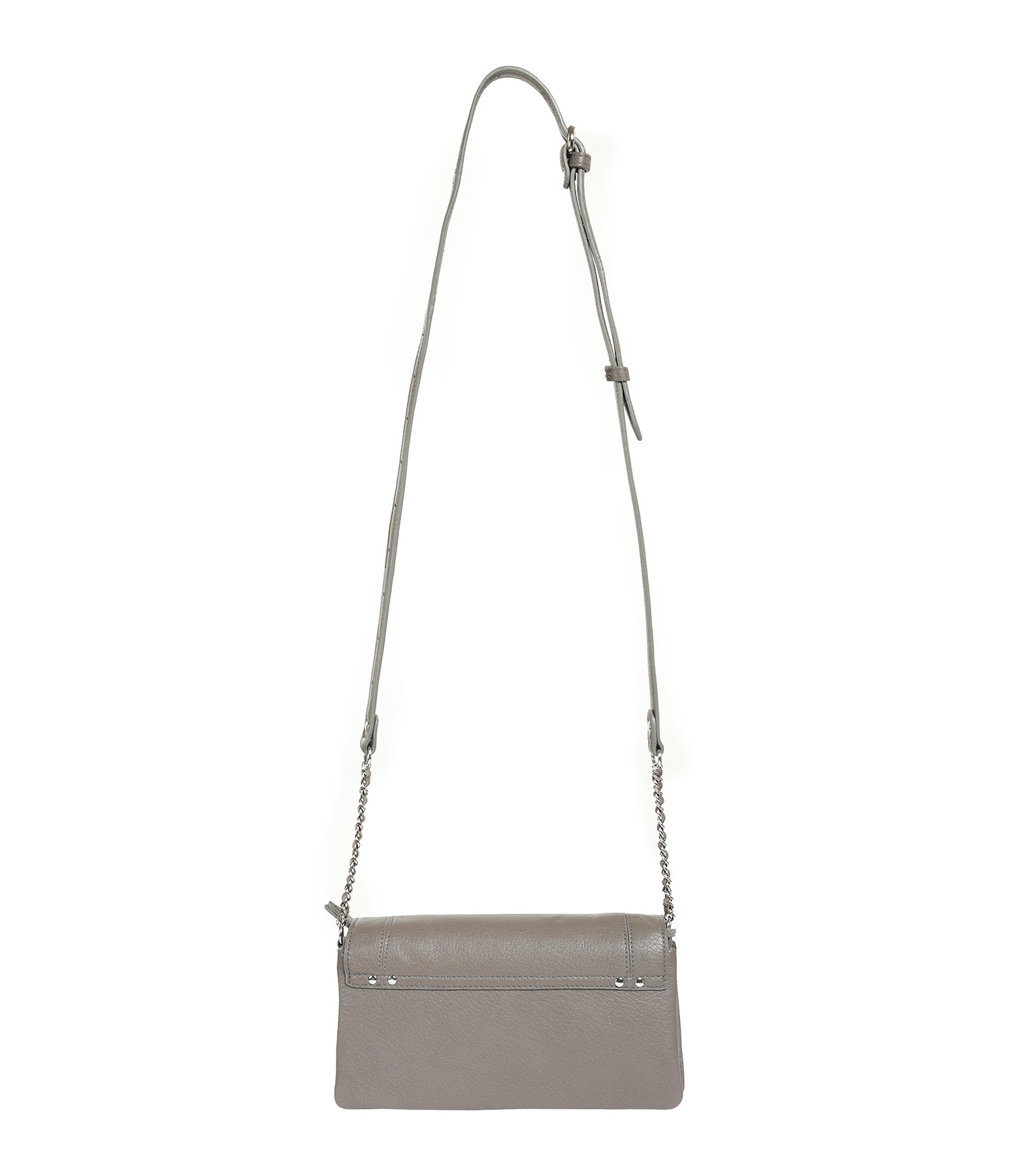 JEROME DREYFUSS - Sac Charly S Chèvre Gris