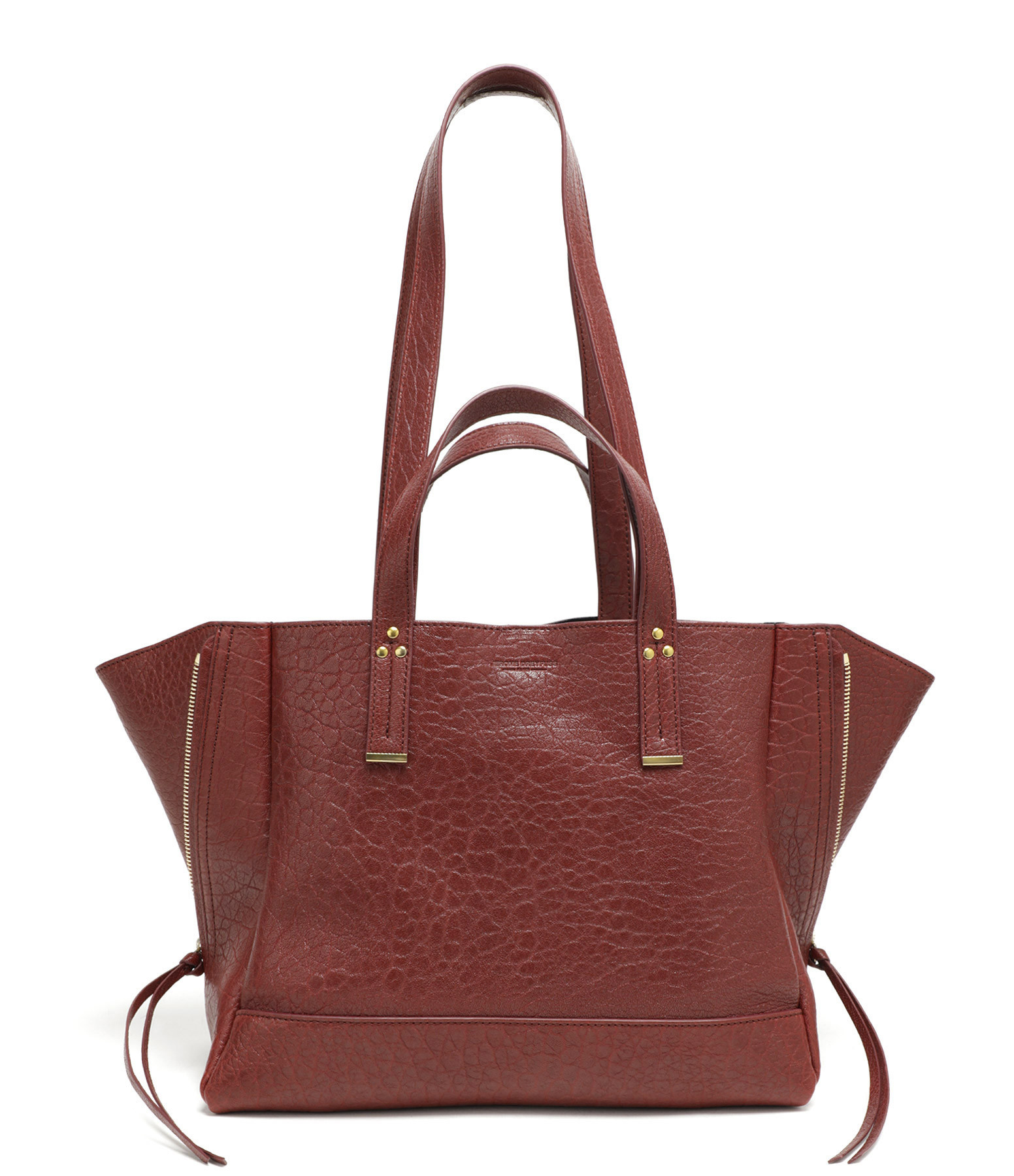 JEROME DREYFUSS - Sac Georges M Agneau Old Red