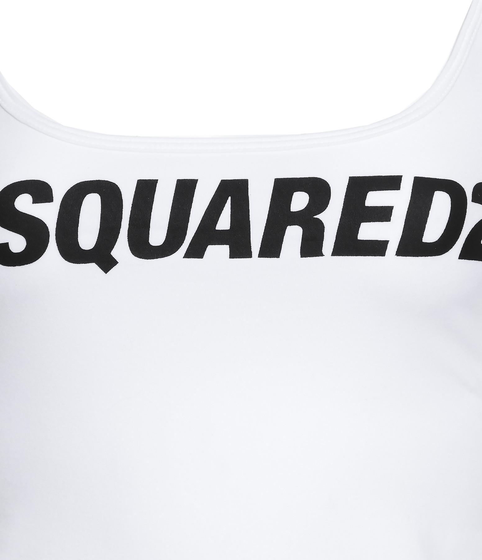 DSQUARED² - Débardeur Coton Blanc