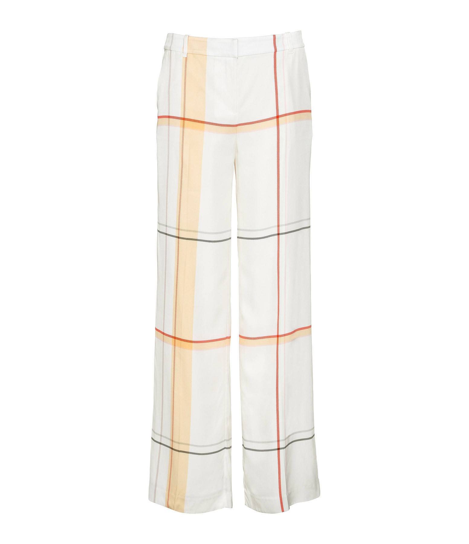 EQUIPMENT - Pantalon Rayures Arwen Blanc