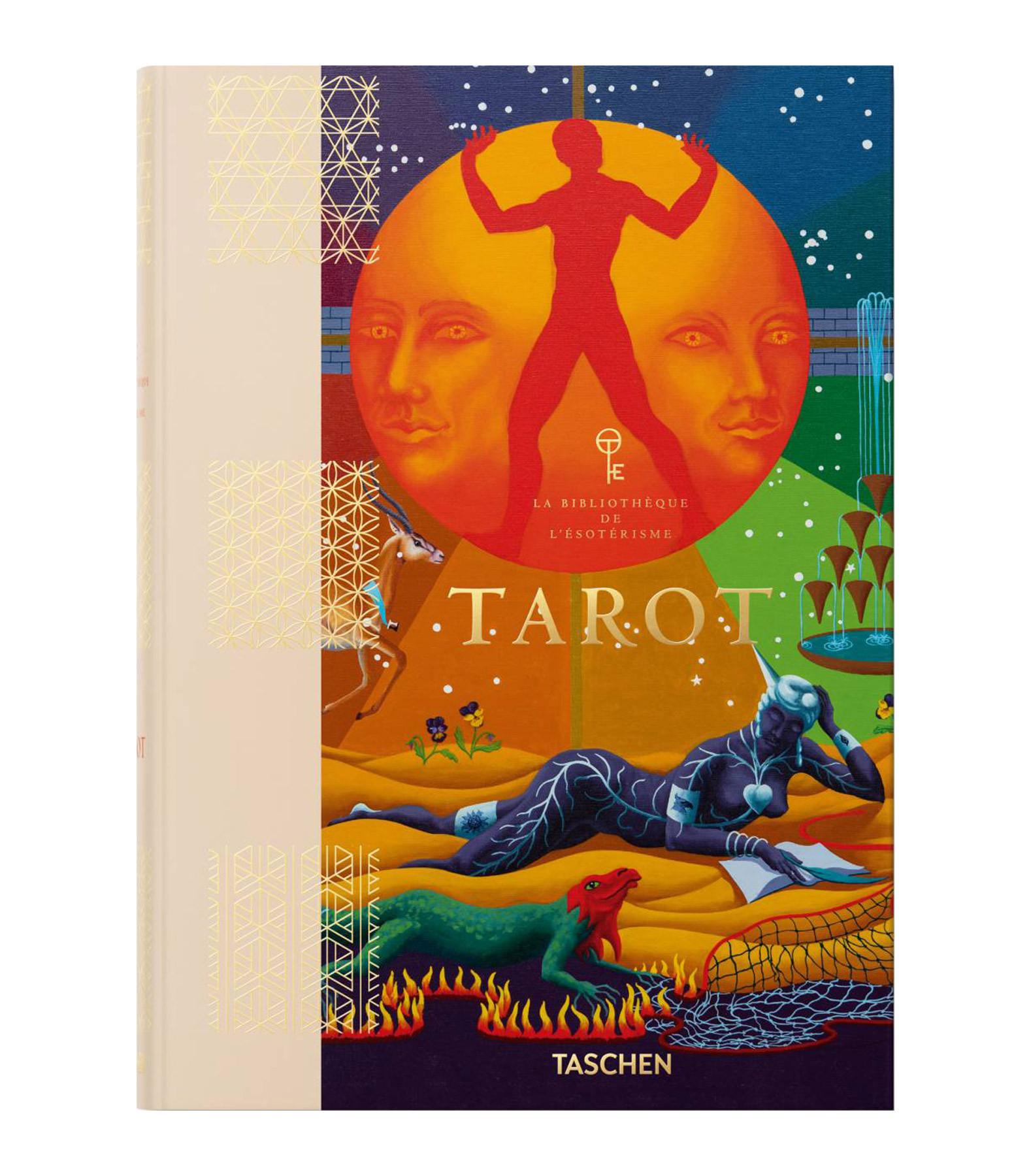 TASCHEN - Livre Tarot, La Bibliothèque de l'Esotérisme