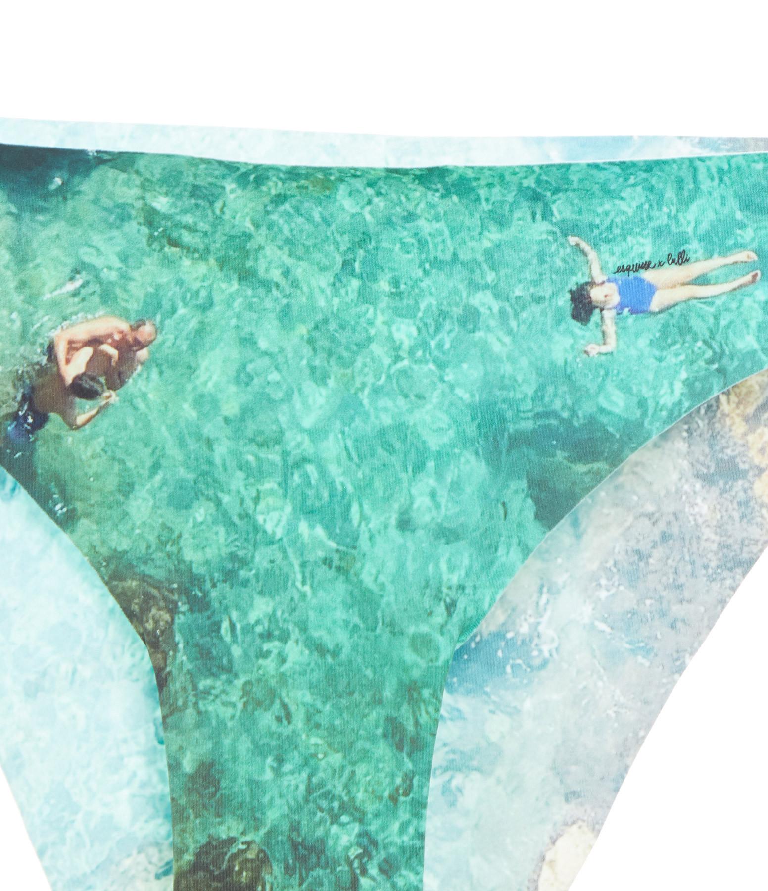 ESQUISSE - Culotte de Bain Massilia Imprimé Corniche