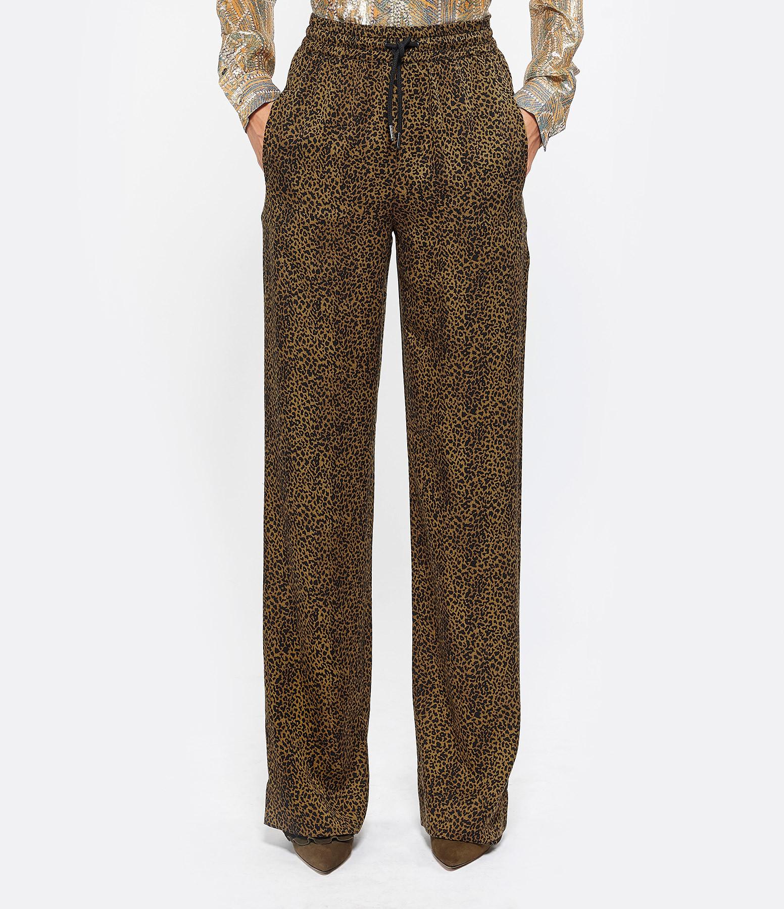 ESSENTIEL ANTWERP - Pantalon Trinity Marron Foret