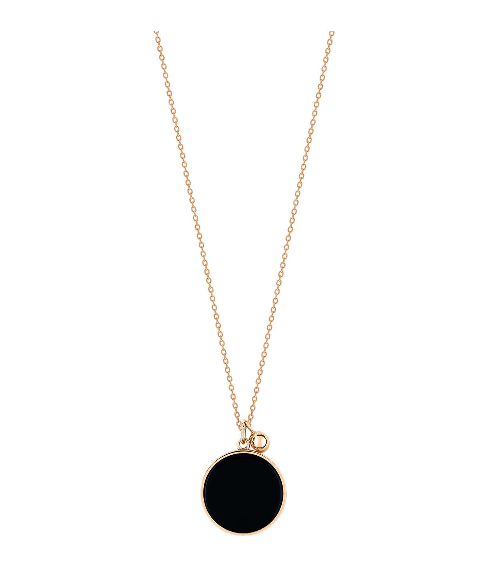 GINETTE_NY - Collier Ever Disc Onyx