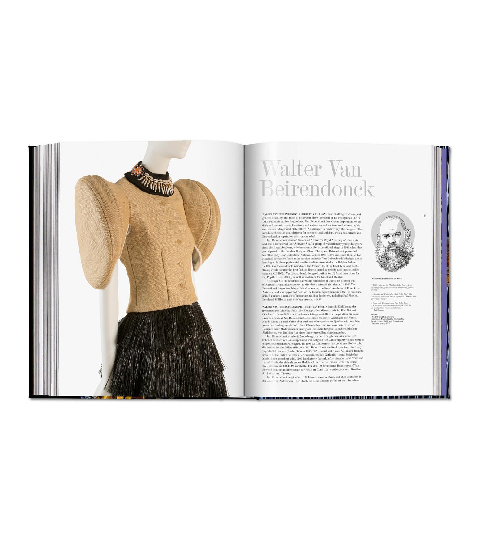 TASCHEN - Livre Fashion Designers A-Z, Updated 2020 Edition