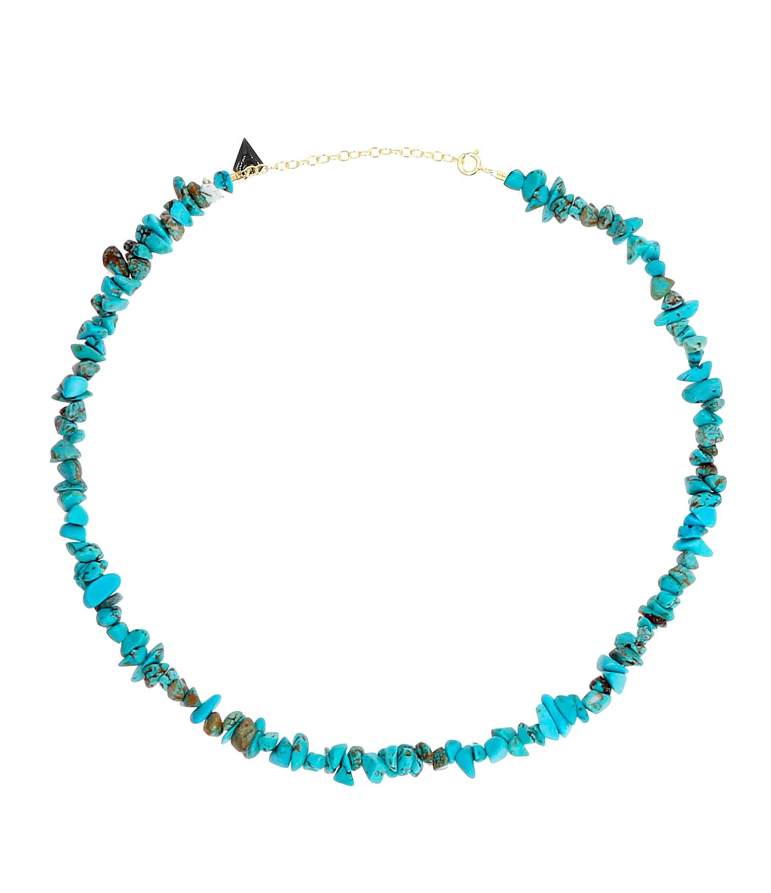 MON PRECIEUX GEM - Collier Facettes Turquoise