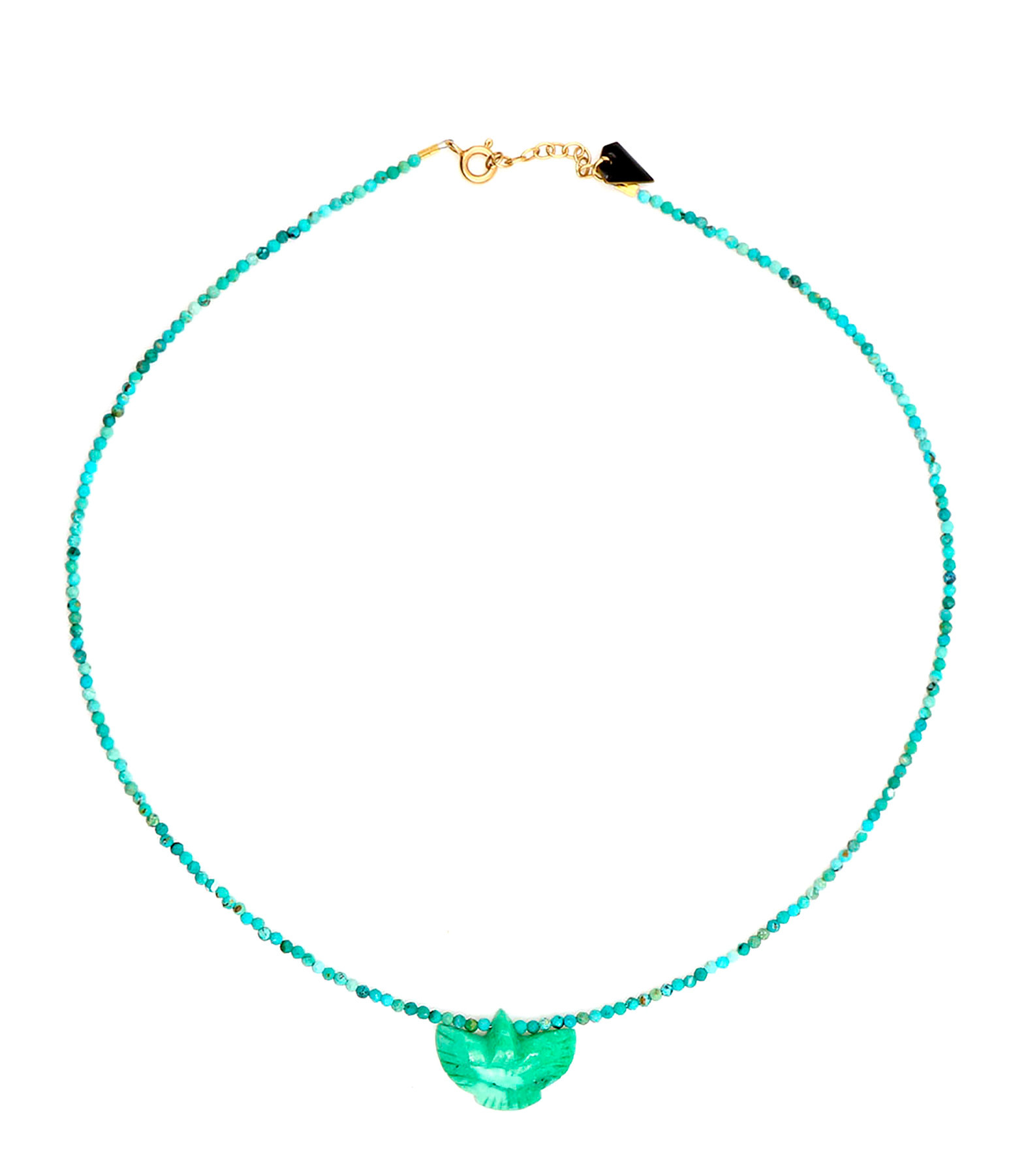 MON PRECIEUX GEM - Collier Condor Perles Turquoise