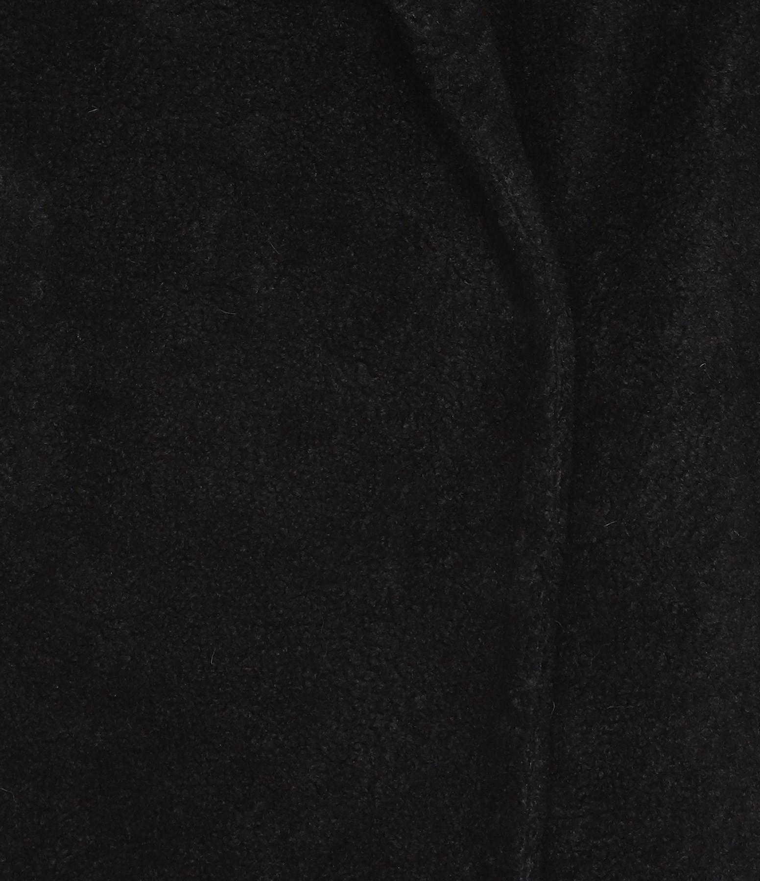 FORTE DEI MARMI COUTURE - Manteau Fourrure Noir Blanc