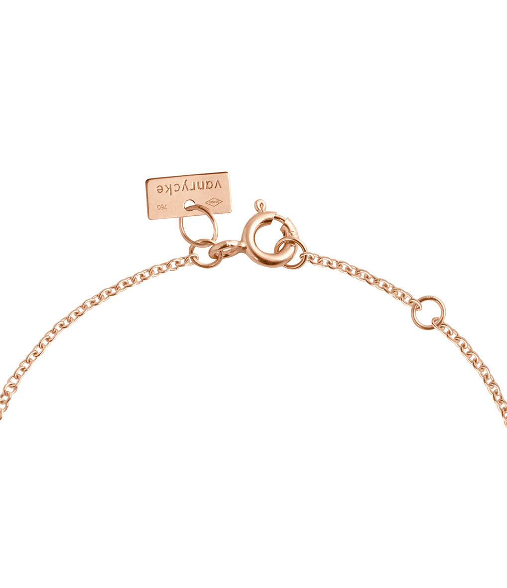 VANRYCKE - Bracelet Angie Or Rose
