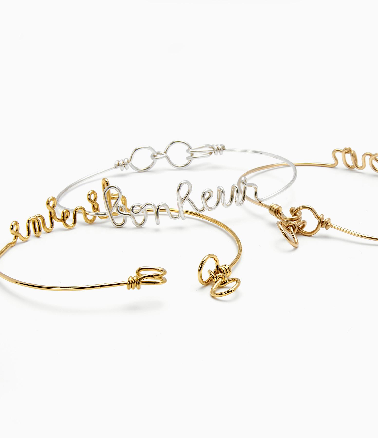 Bracelet Fil Love Argent - ATELIER PAULIN