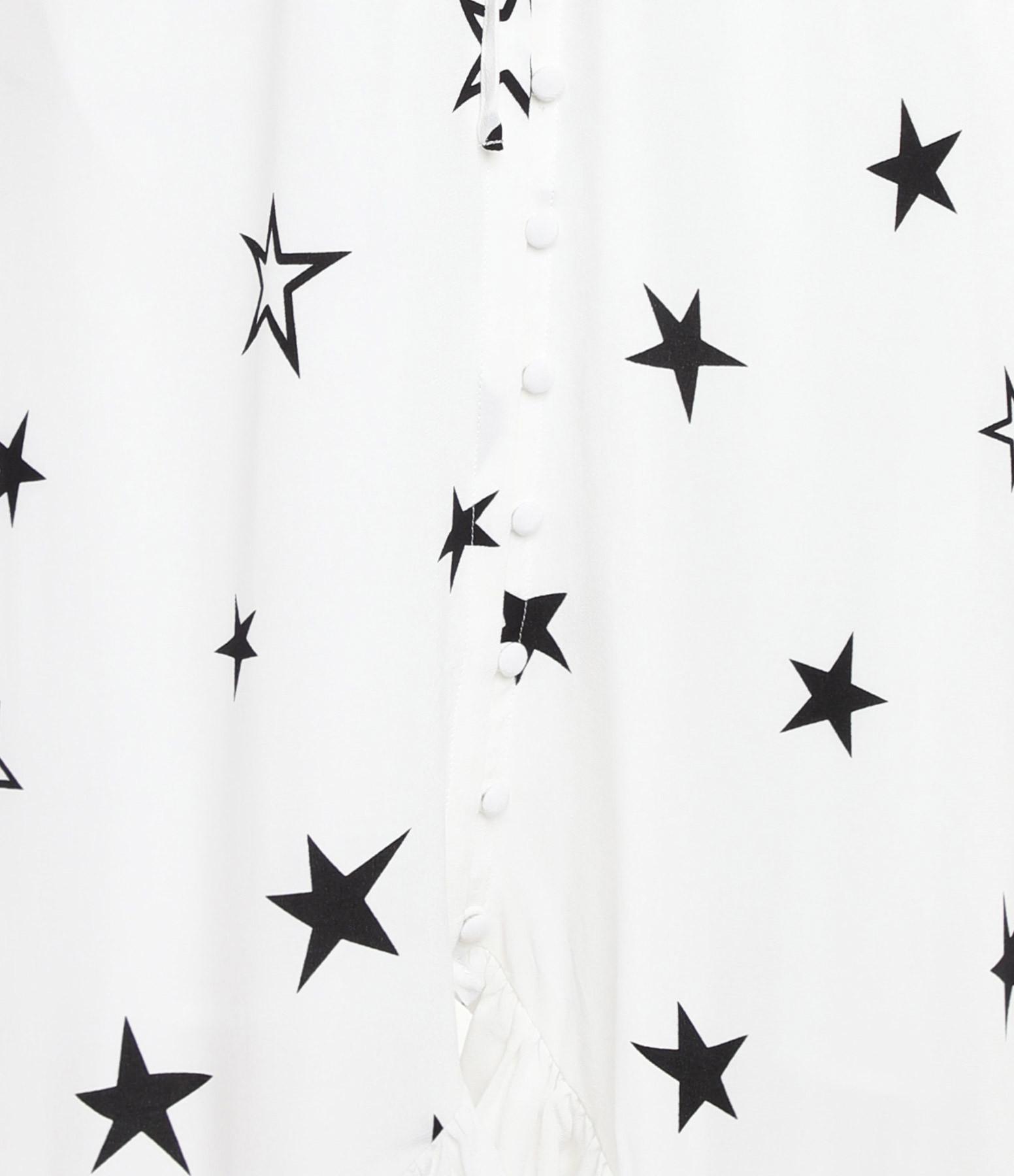 RAILS - Robe Frida Imprimé Étoile Blanc
