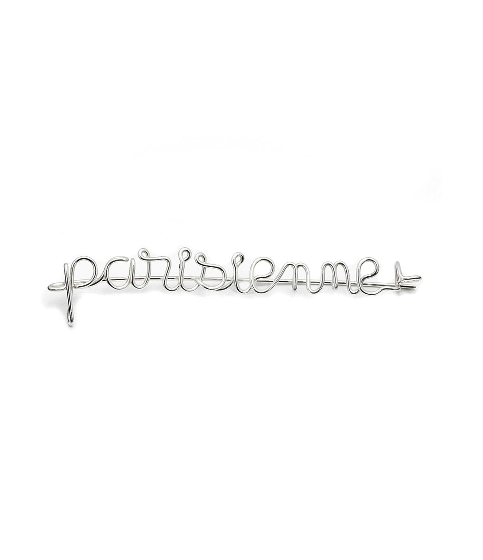 Fibule Fil Parisienne Cuivre Argent - ATELIER PAULIN