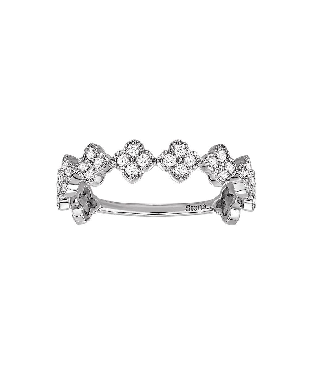 STONE PARIS - Bague Fleurs du Mal Or Diamants