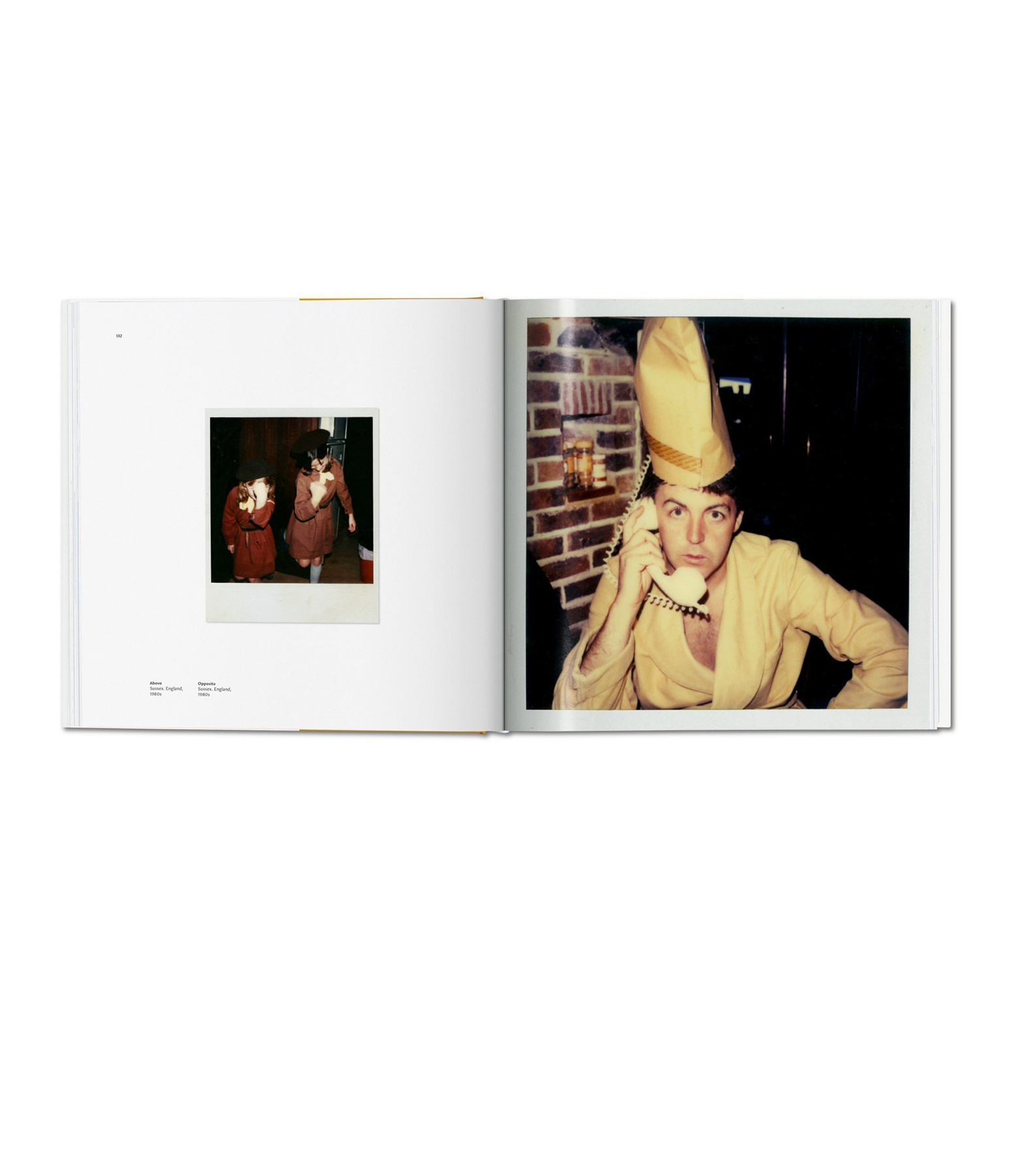 TASCHEN - Livre Linda McCartney, The Polaroid Diaries