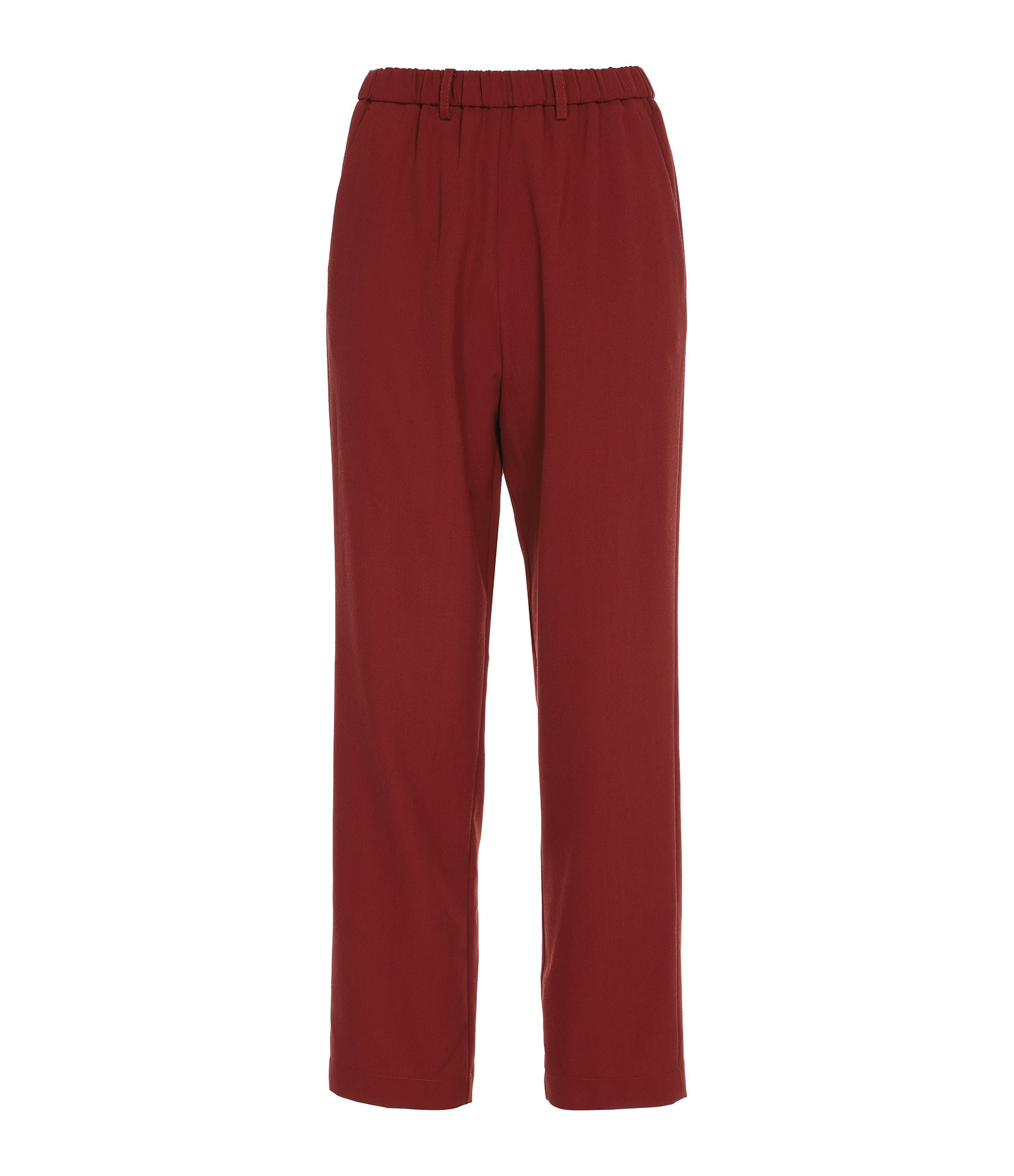 FORTE_FORTE - Pantalon Fluide Rouille