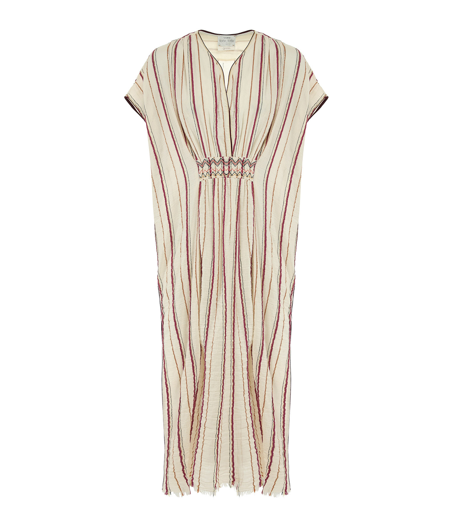 FORTE_FORTE - Robe Coton Rose Ciclamino