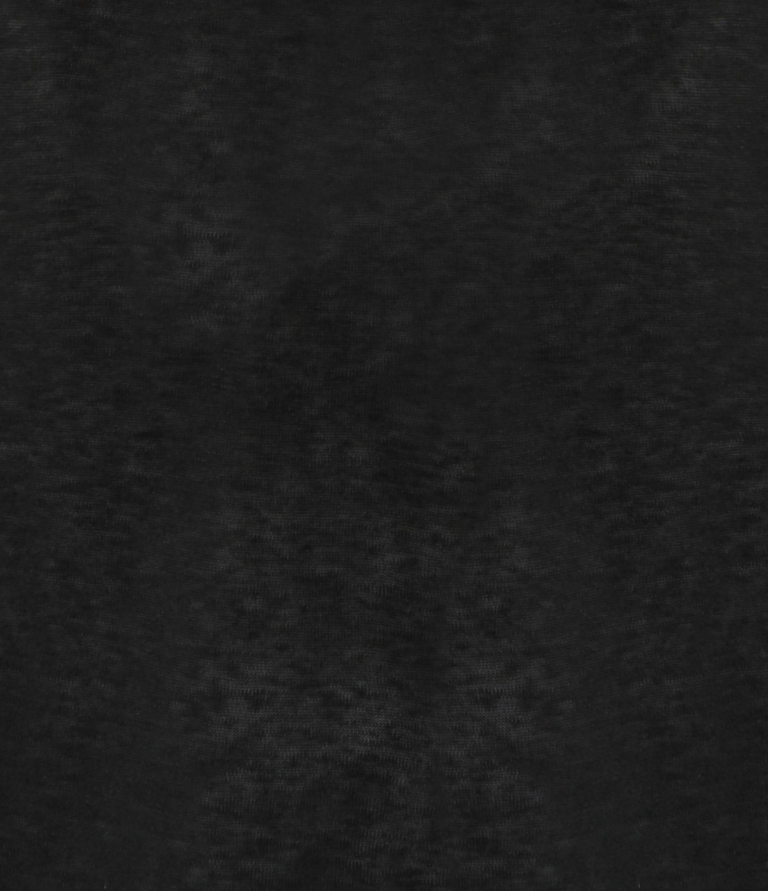 FORTE_FORTE - Top Lin Torchon Noir