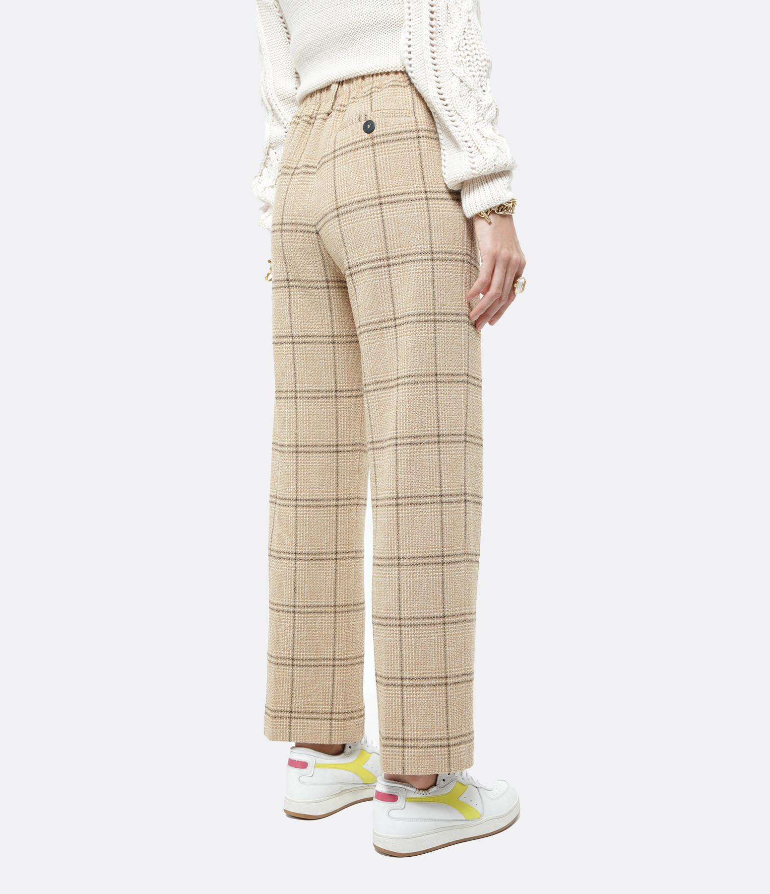 FORTE_FORTE - Pantalon Laine Coton Camel