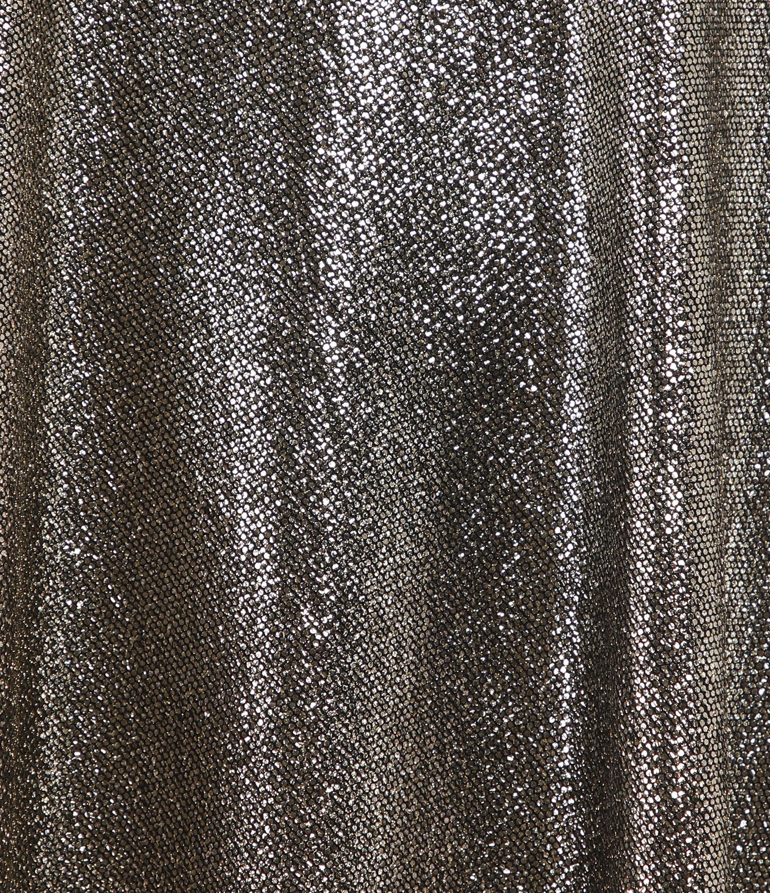 FORTE_FORTE - Robe Laminated Jersey Noir