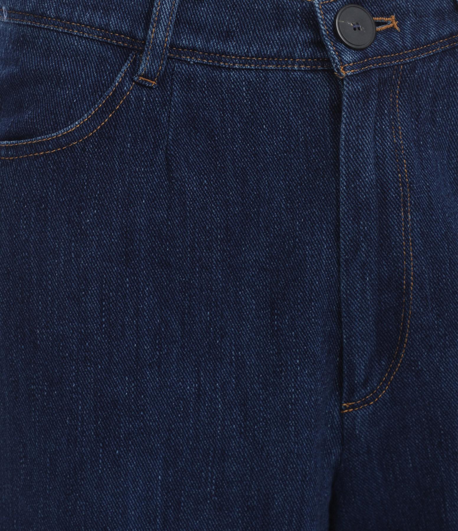 FORTE_FORTE - Pantalon Denim Indigo