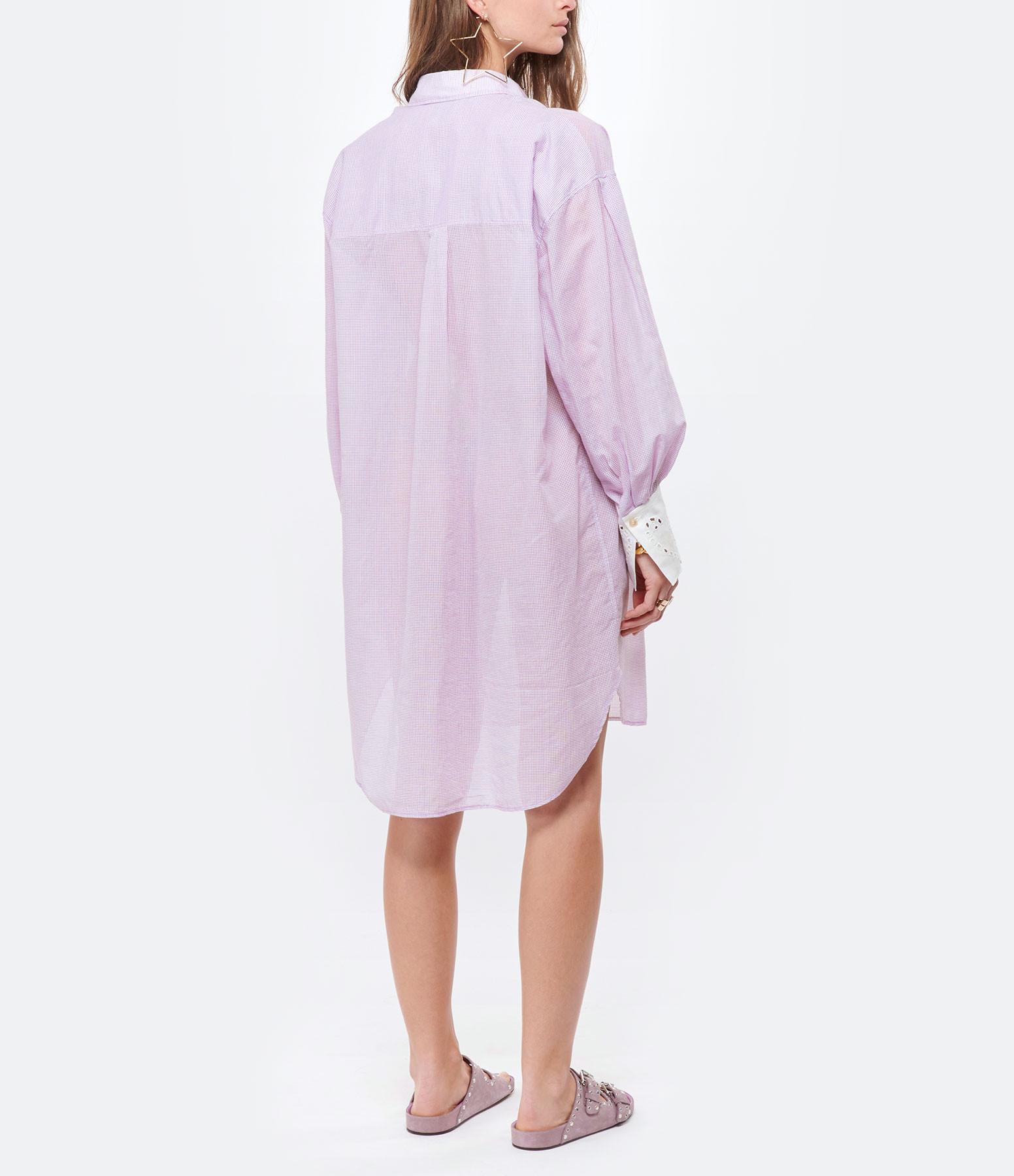 FORTE_FORTE - Veste Oversize Coton Violet