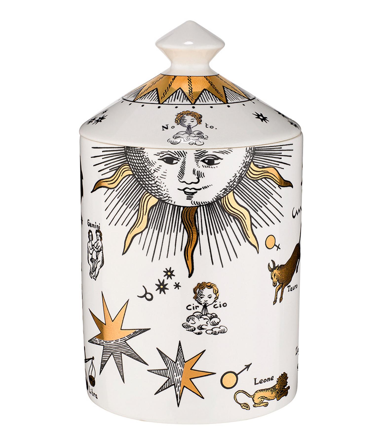 FORNASETTI - Bougie Parfumée 300g Astronomici Bianco (Gold)