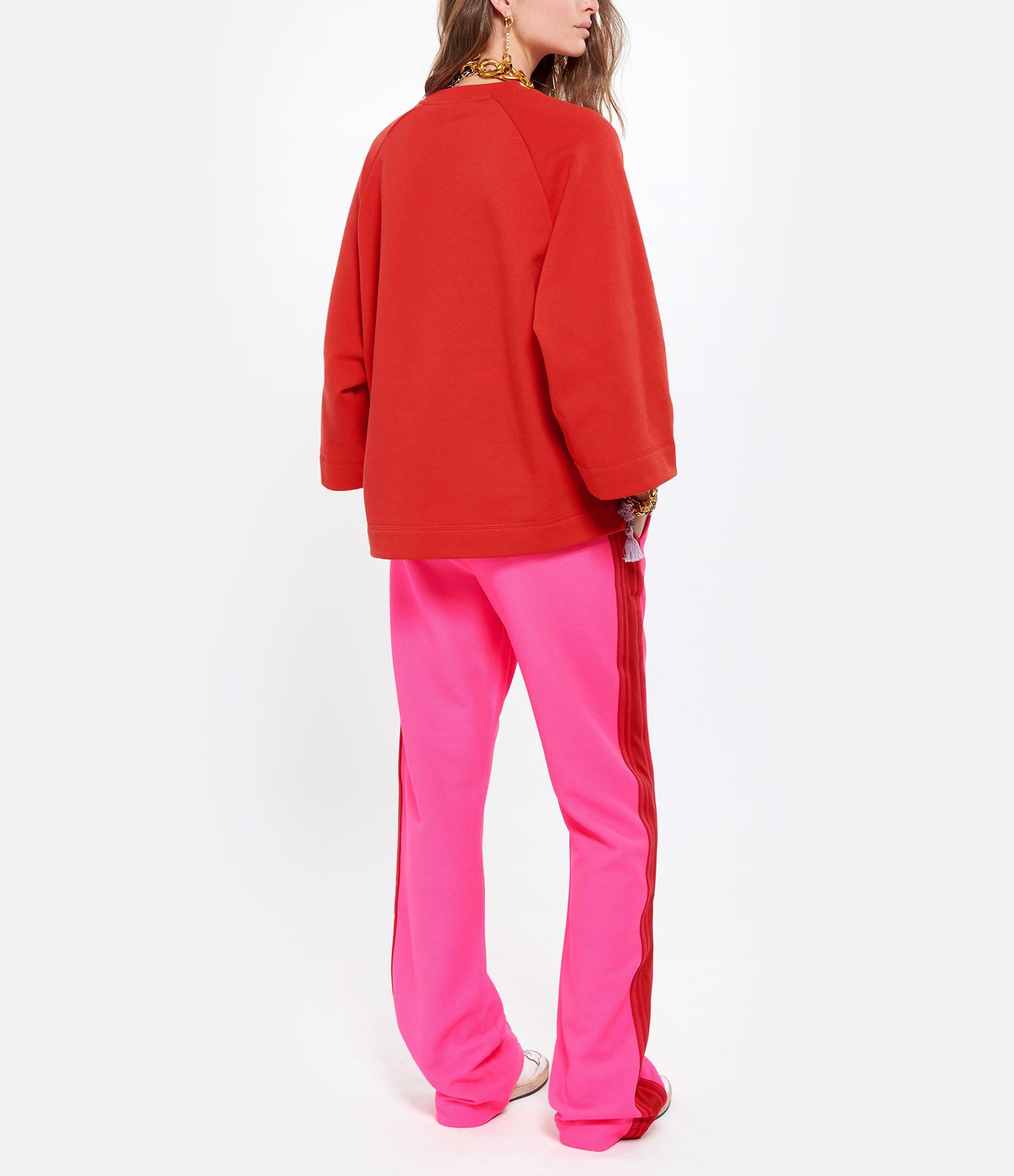 GANNI - Tee-shirt Ganni Rouge