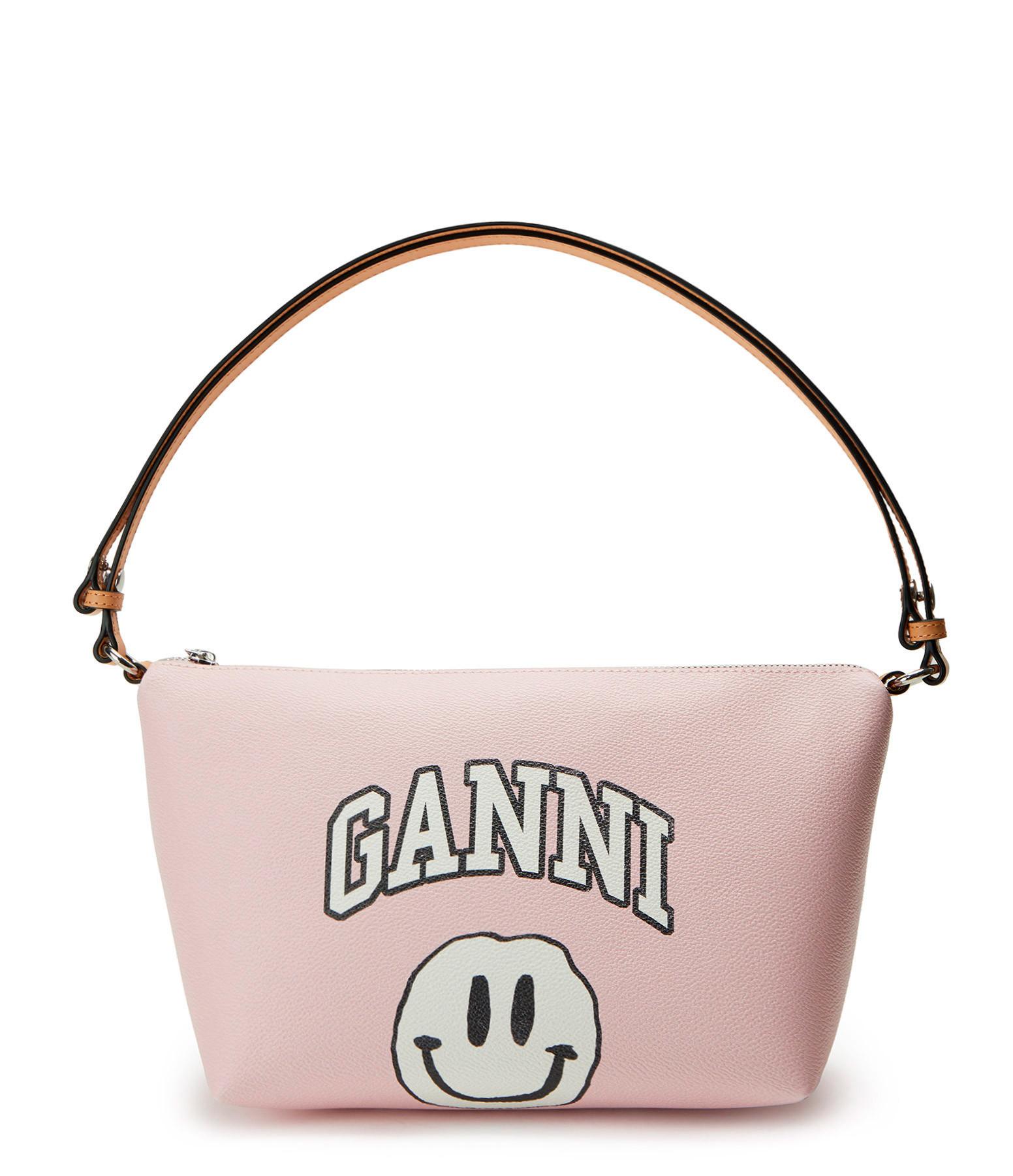 GANNI - Sac Ganni Rose Pâle