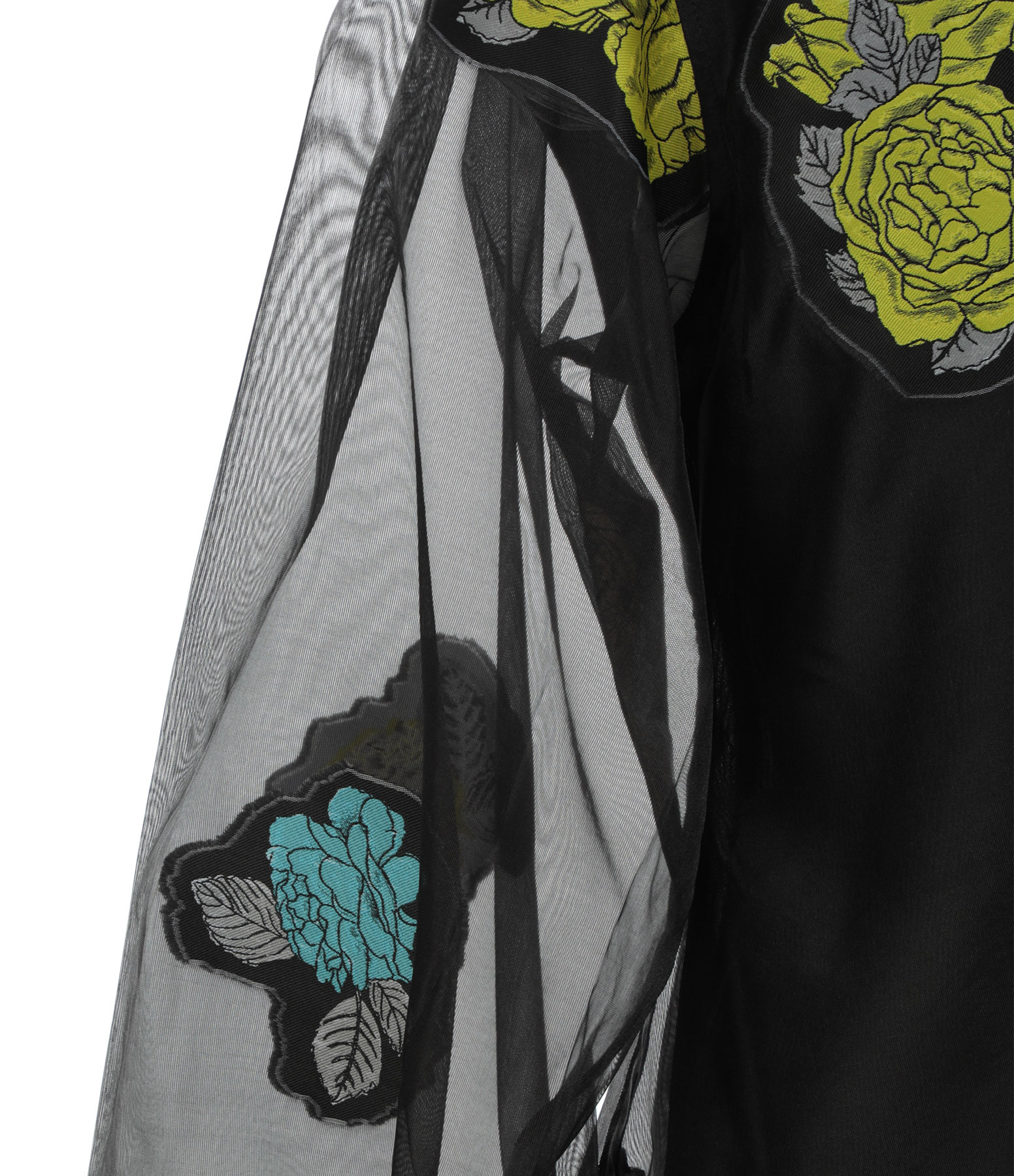 GANNI - Robe Imprimé Noir