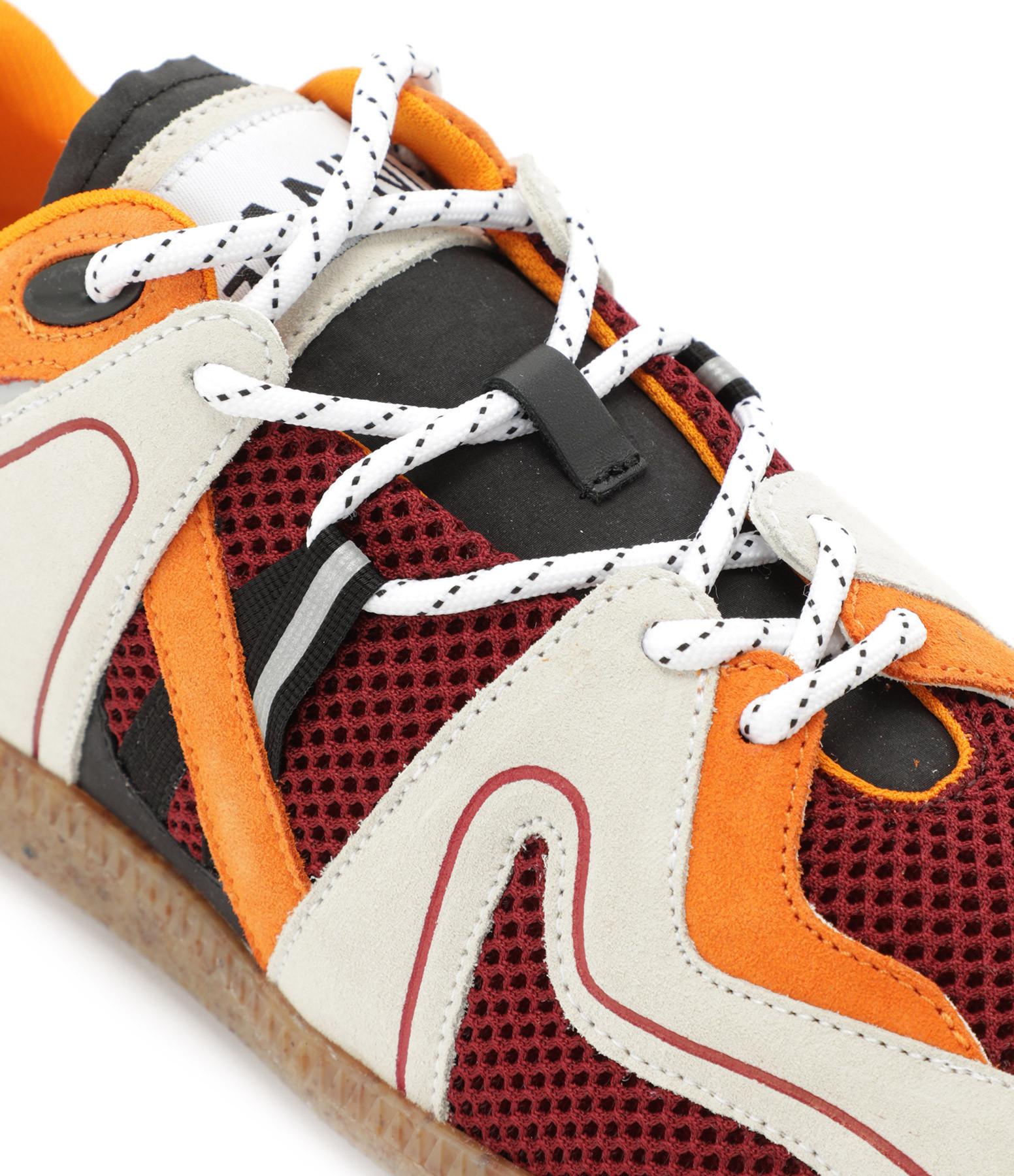 GANNI - Baskets Sporty Mix Orange