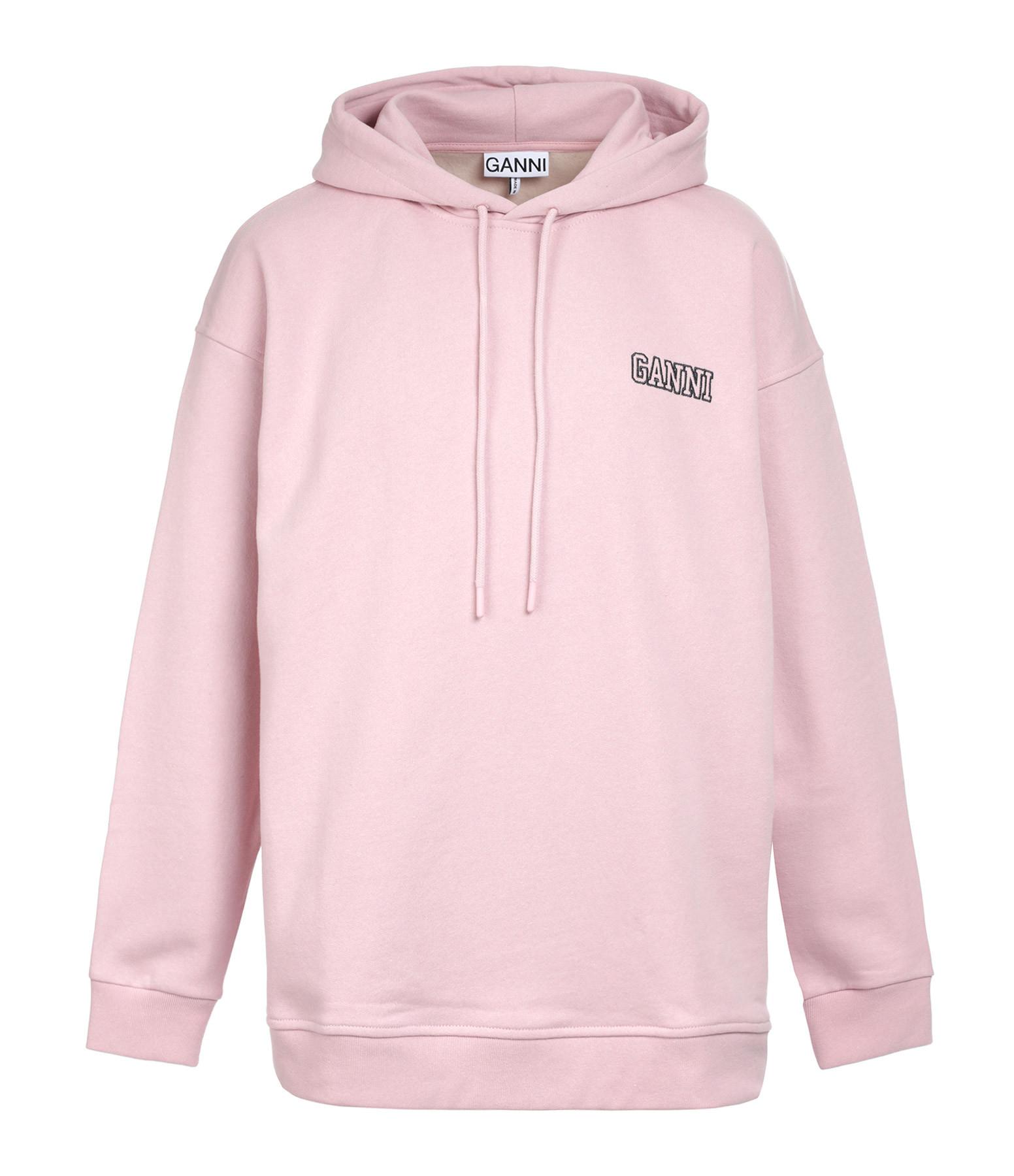 GANNI - Sweatshirt Software Isoli Rose