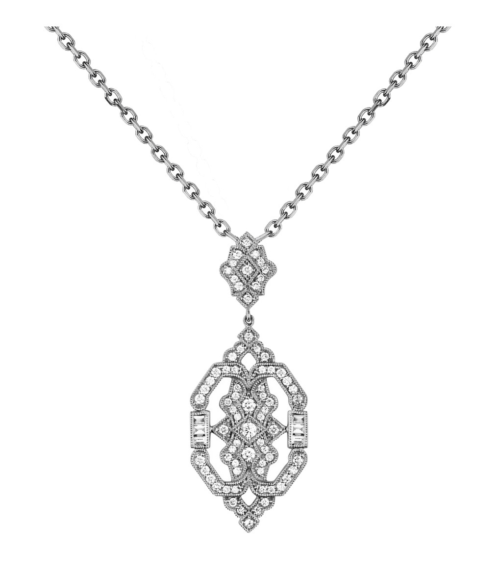 Collier Garbo Or Diamants - STONE