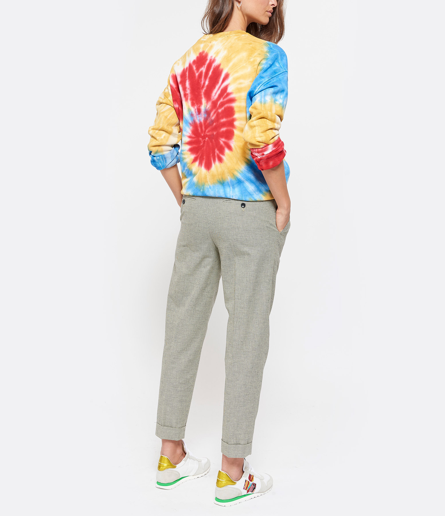 GARCONS INFIDELES - Sweatshirt Tie And Dye Multicolore