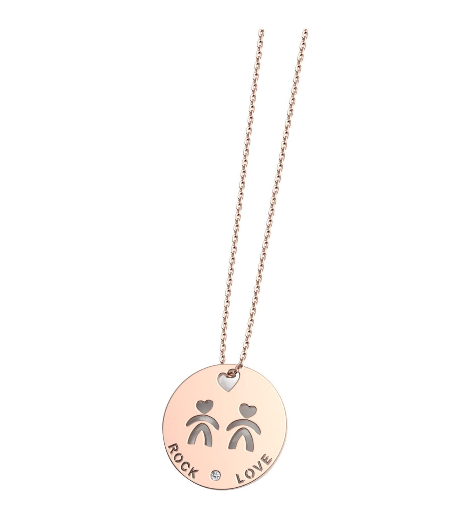 NAVA JOAILLERIE - Collier Horosco-Rock Gémeau Diamants Or