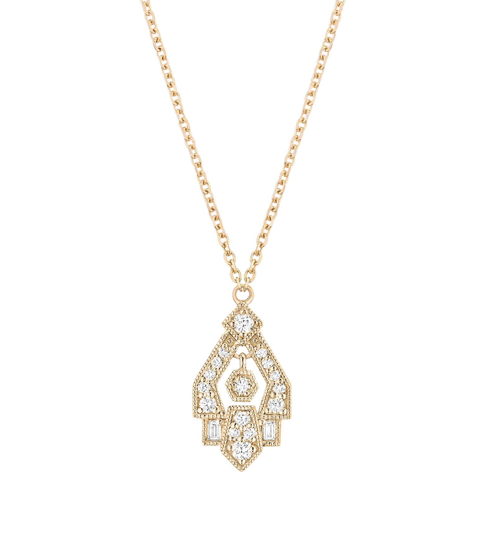 STONE PARIS - Collier Gilda Or Diamants