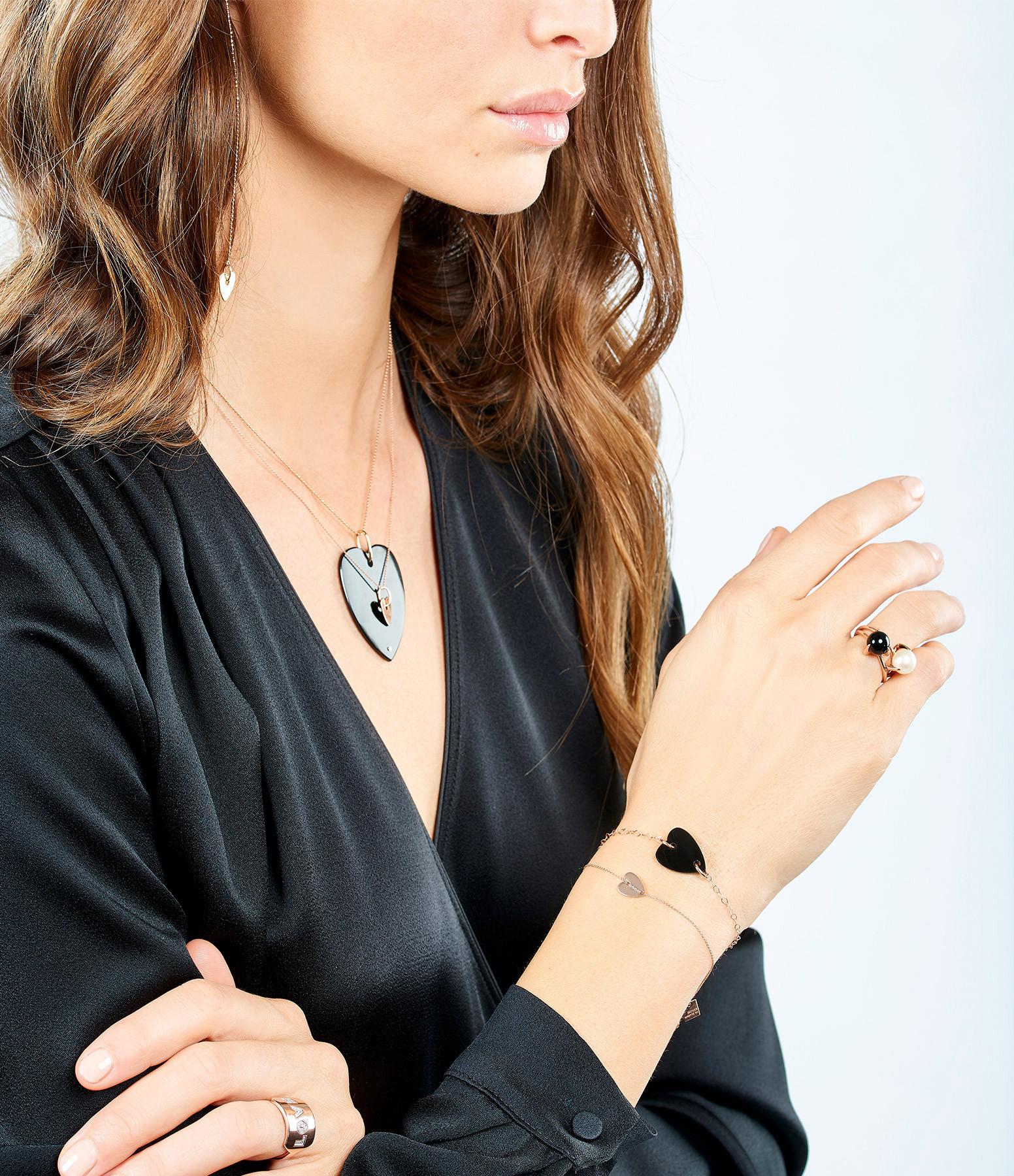 GINETTE_NY - Bracelet Angele Mini Coeur