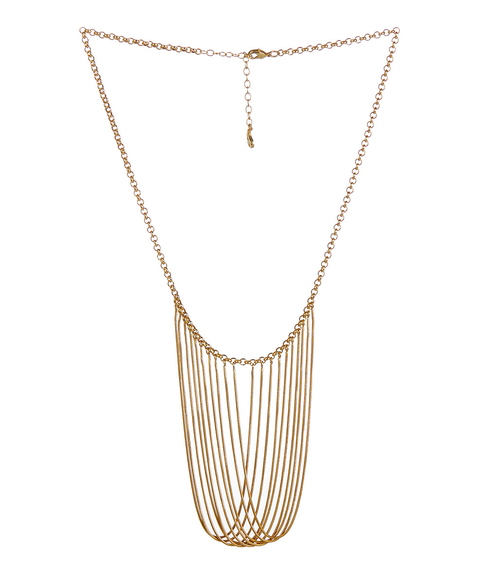 MAGGOOSH - Collier Gold Rush Small Plaqué Or