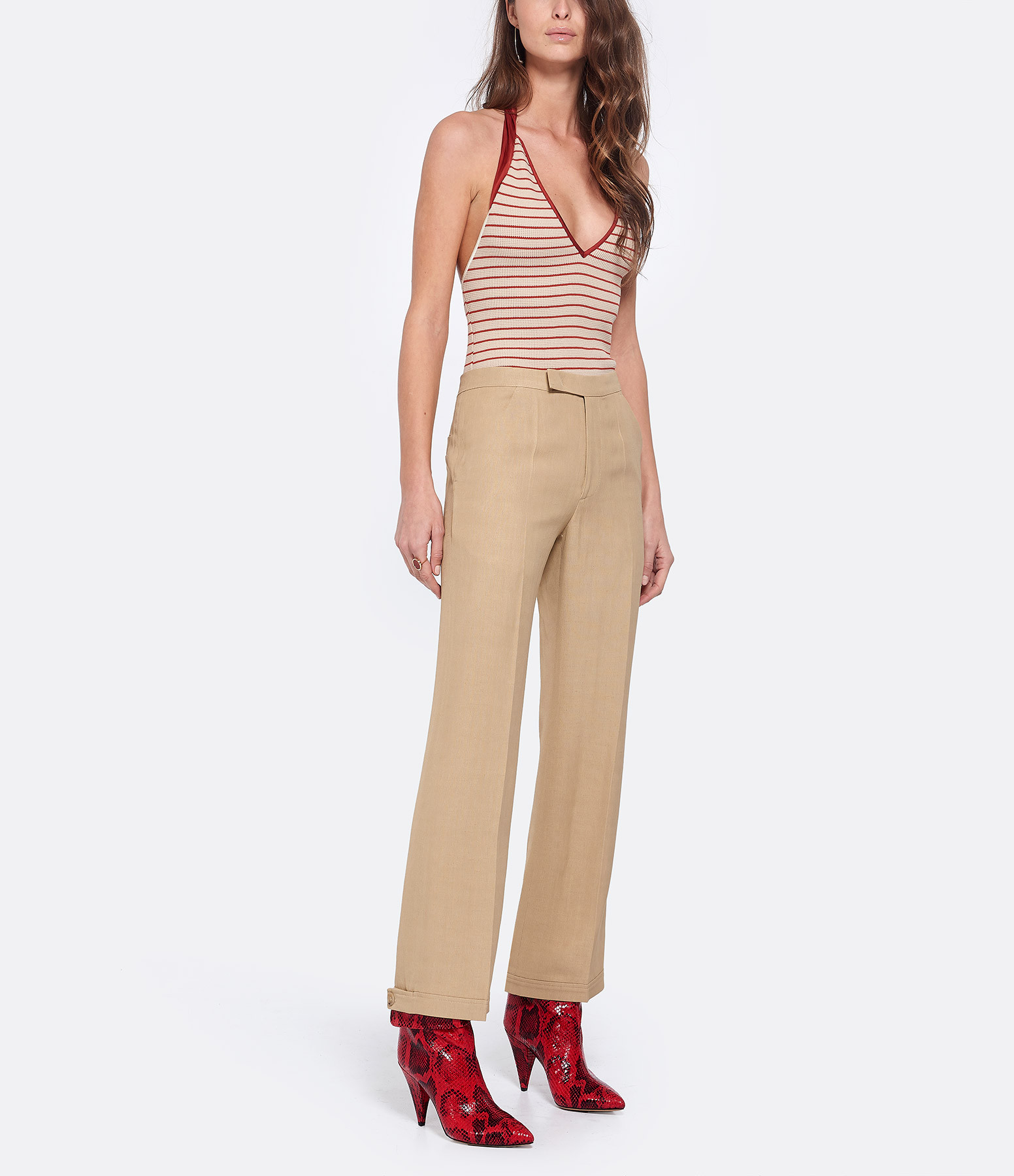 GOLDEN GOOSE - Pantalon Summer Amande