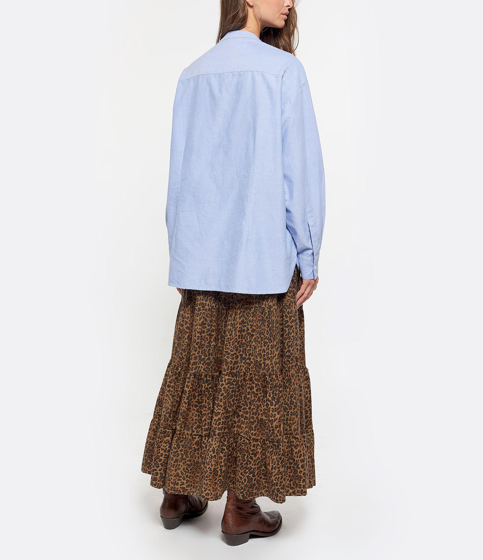 LAURENCE BRAS - Chemise Division Coton Bleu