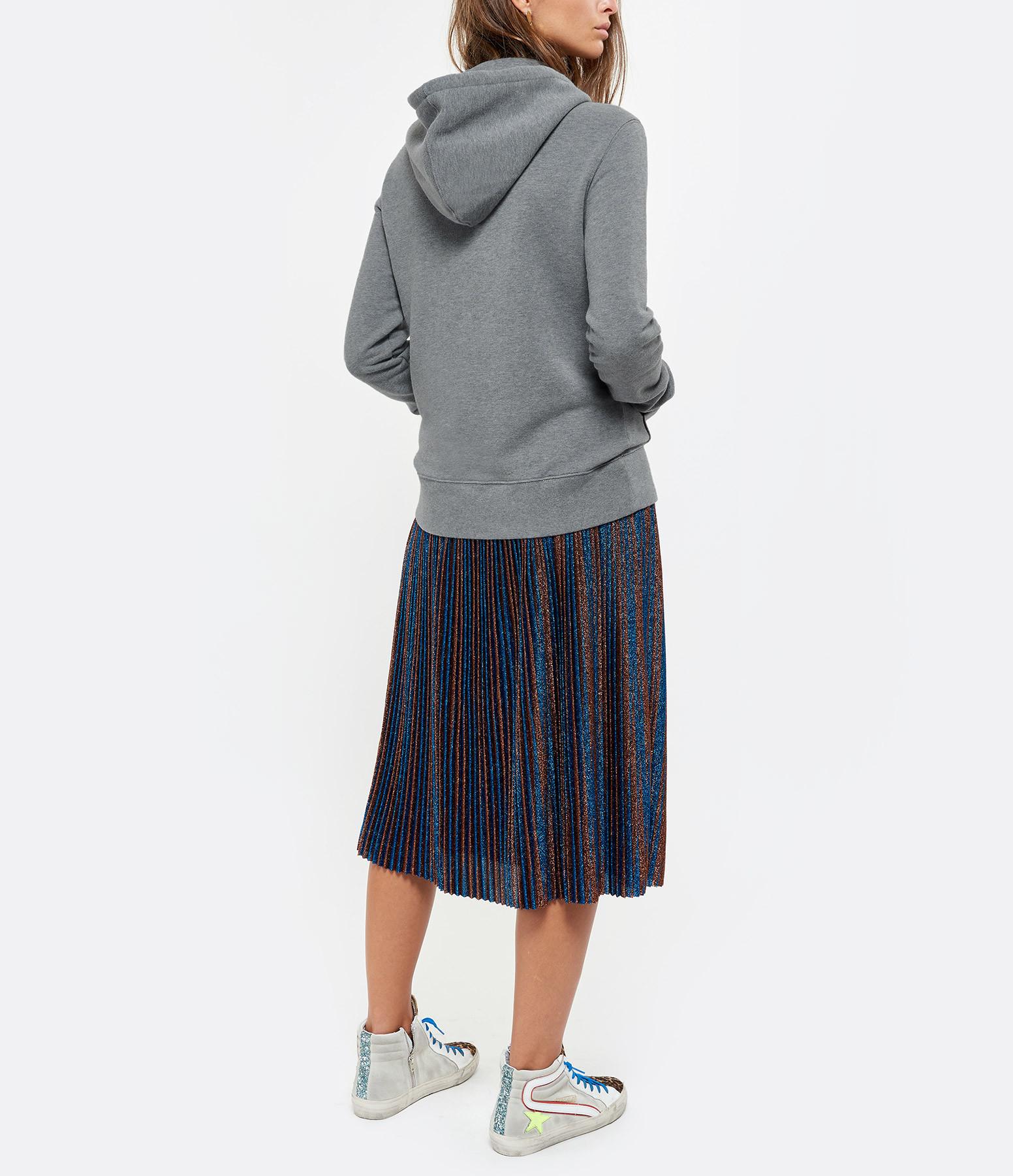GOLDEN GOOSE - Sweatshirt Ayan Coton Gris