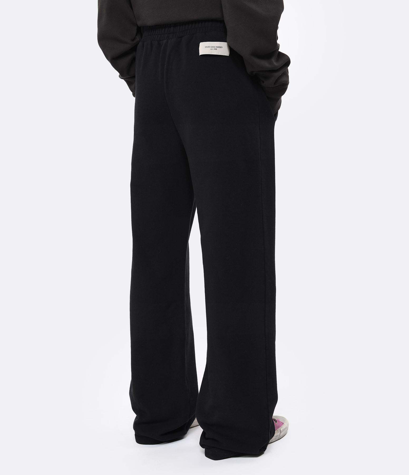 GOLDEN GOOSE - Pantalon Britney Coton Noir