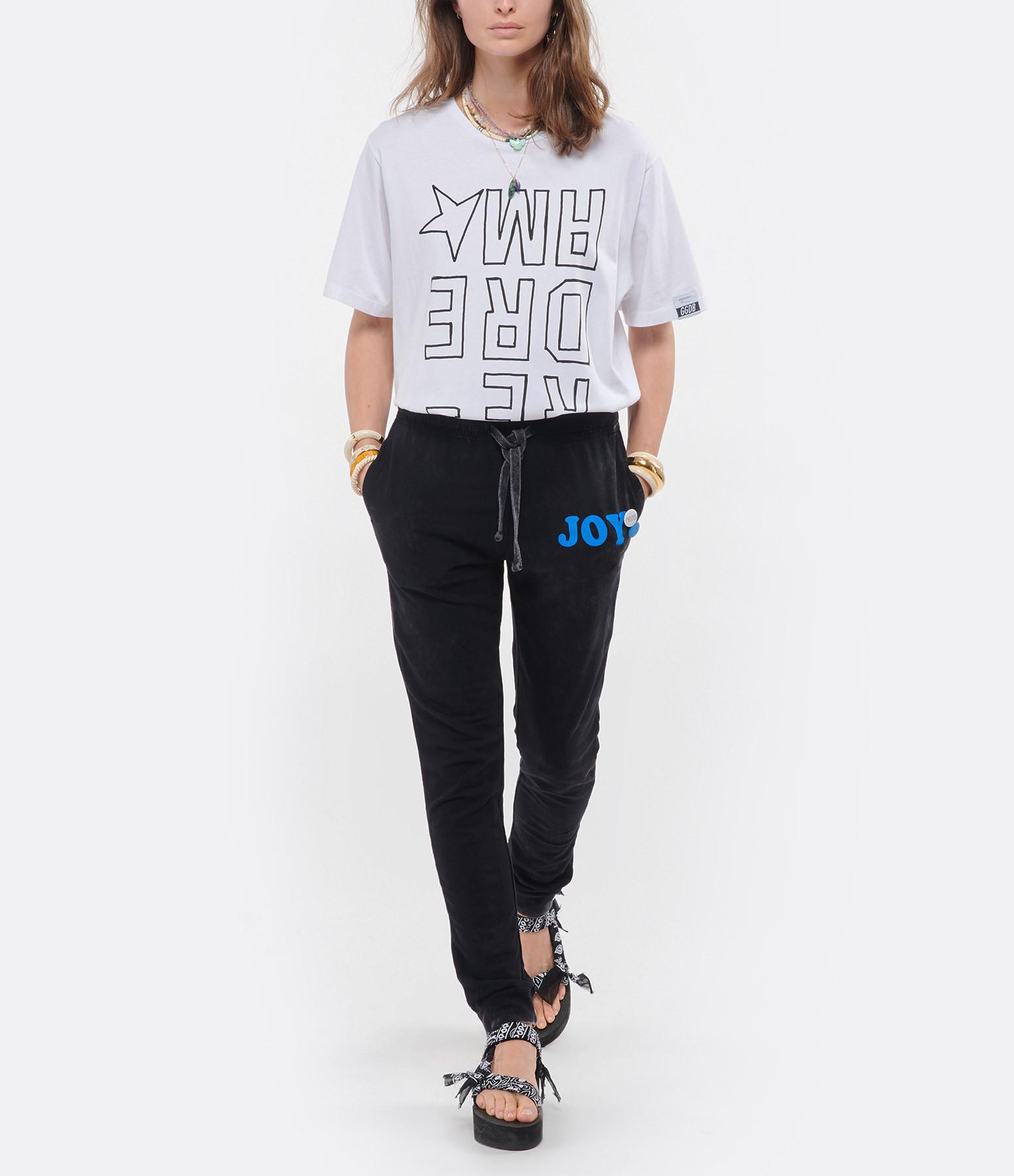 GOLDEN GOOSE - Tee-shirt Aira Dreamer Coton Blanc