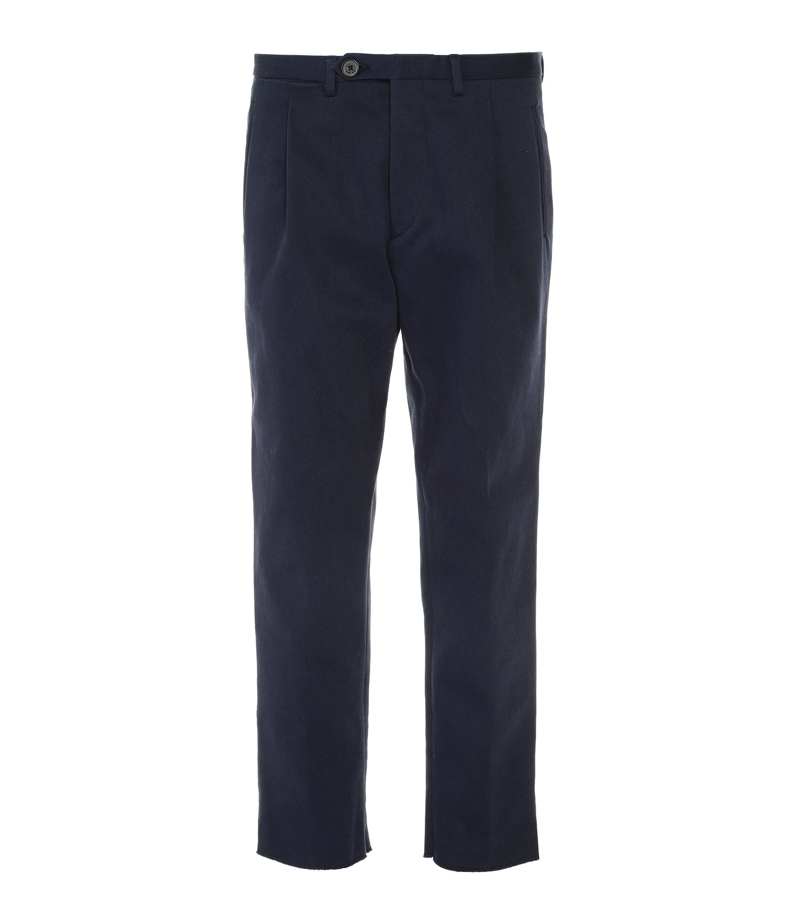 GOLDEN GOOSE - Pantalon George Coton Navy