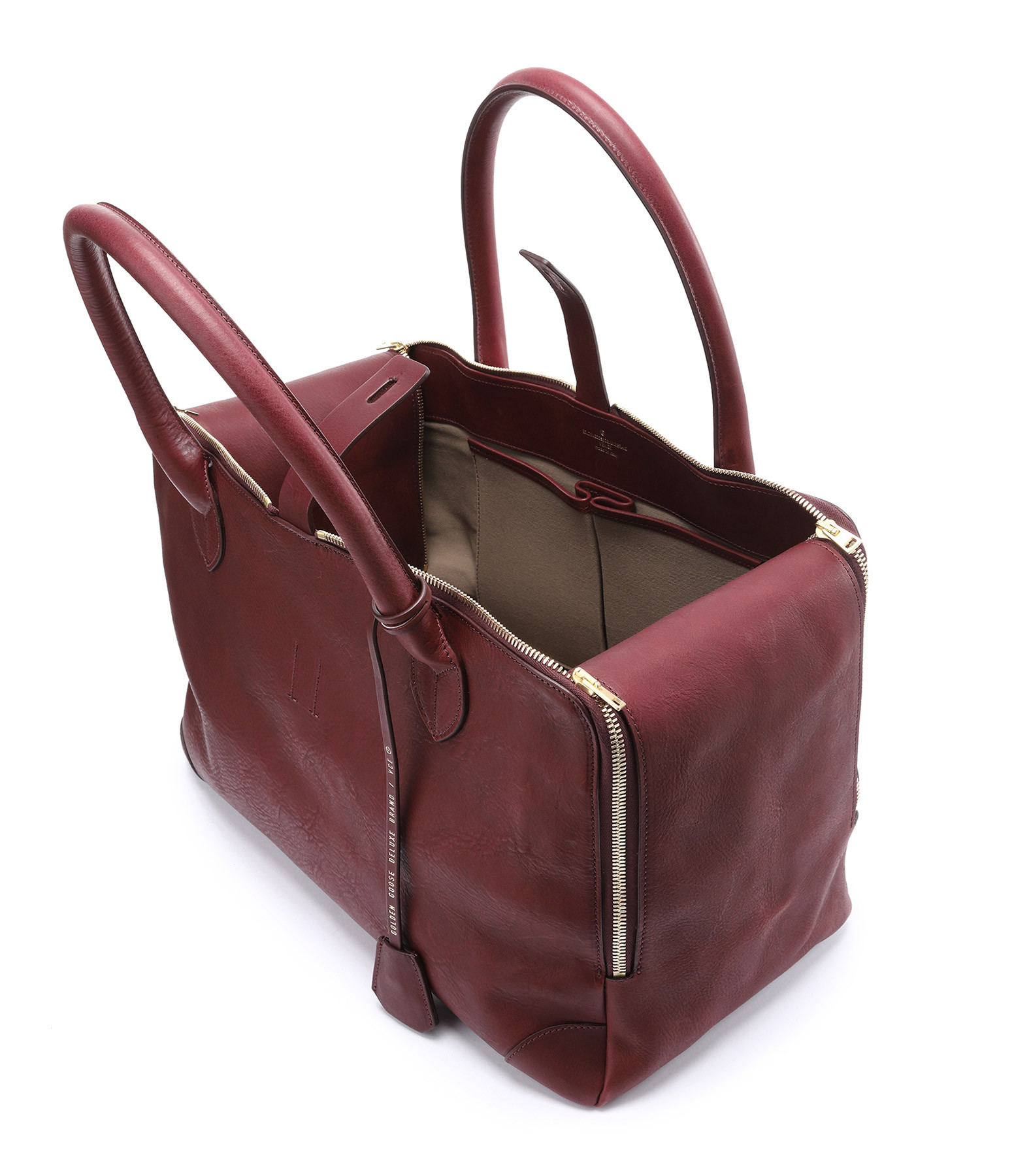 Bordeaux Sac Equipage Equipage Cuir Mm Sac zqMGUpSV