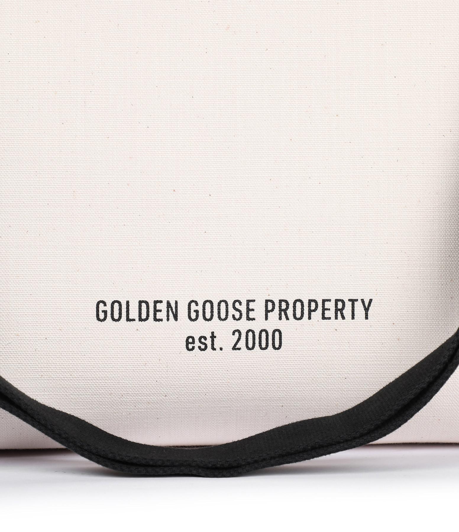 GOLDEN GOOSE - Sac Cabas California Sneakers Toile Naturel