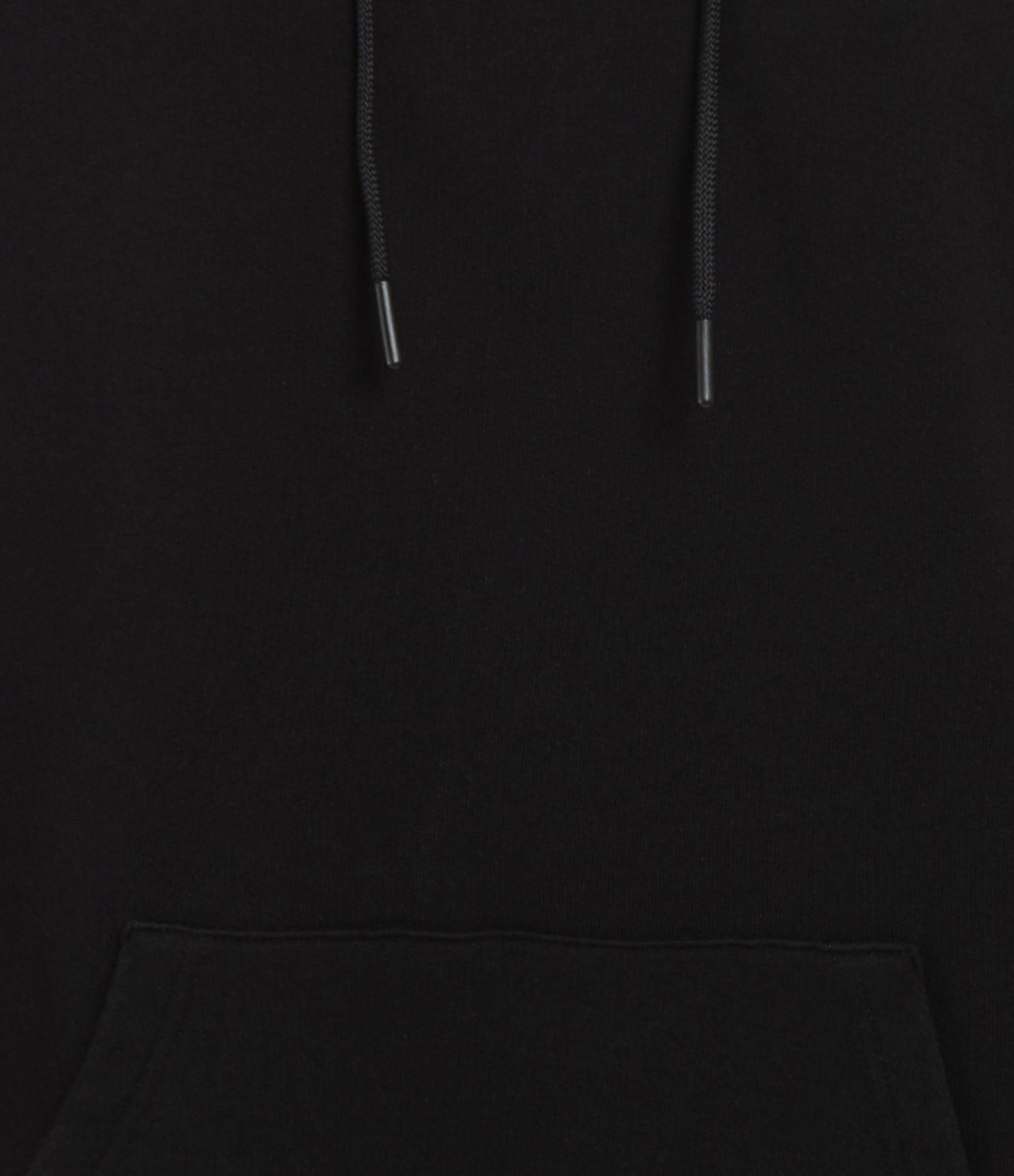 GOLDEN GOOSE - Sweatshirt Homme Nicholas Coton Noir