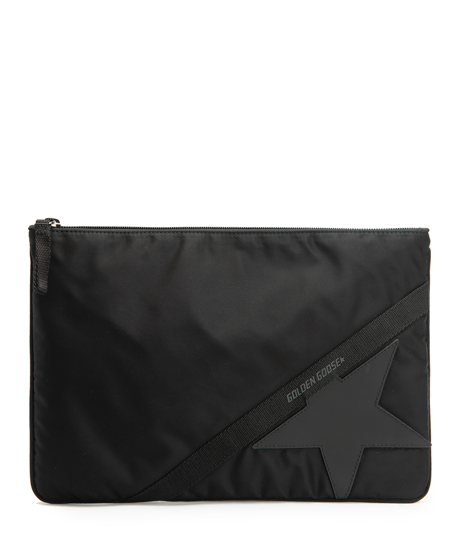 GOLDEN GOOSE - Pochette Journey Large Noir