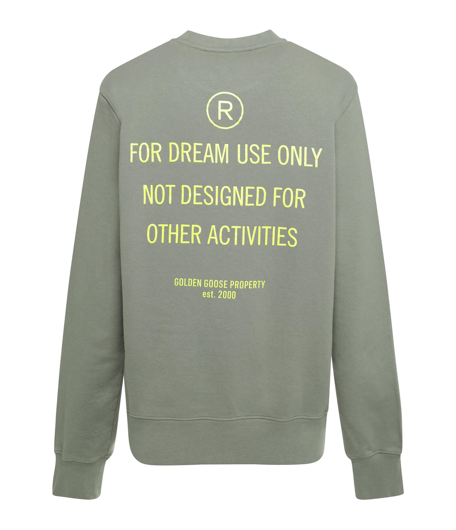 GOLDEN GOOSE - Sweatshirt Homme Archibald Dream Vert