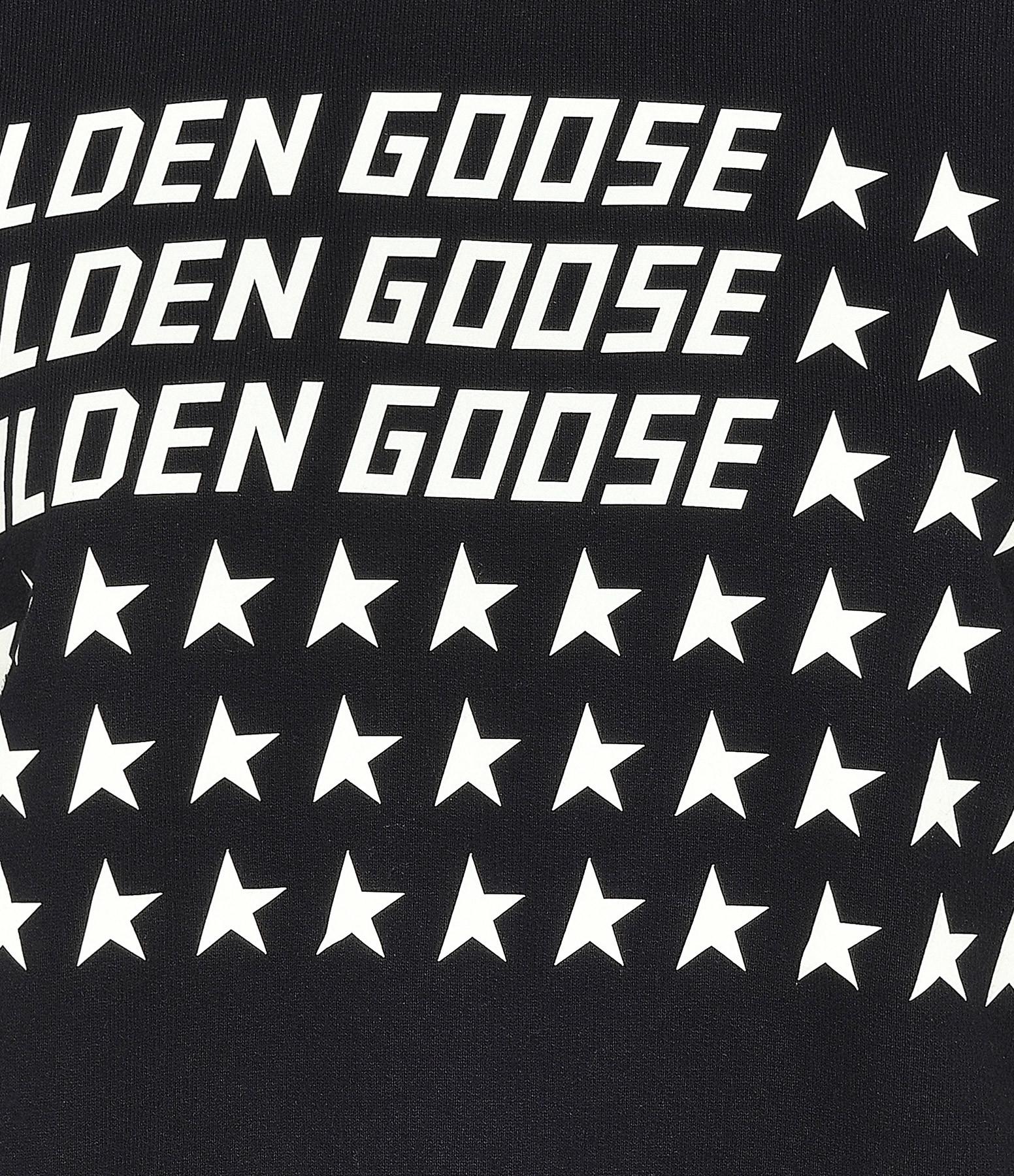 GOLDEN GOOSE - Sweatshirt Homme Archibald Golden Noir