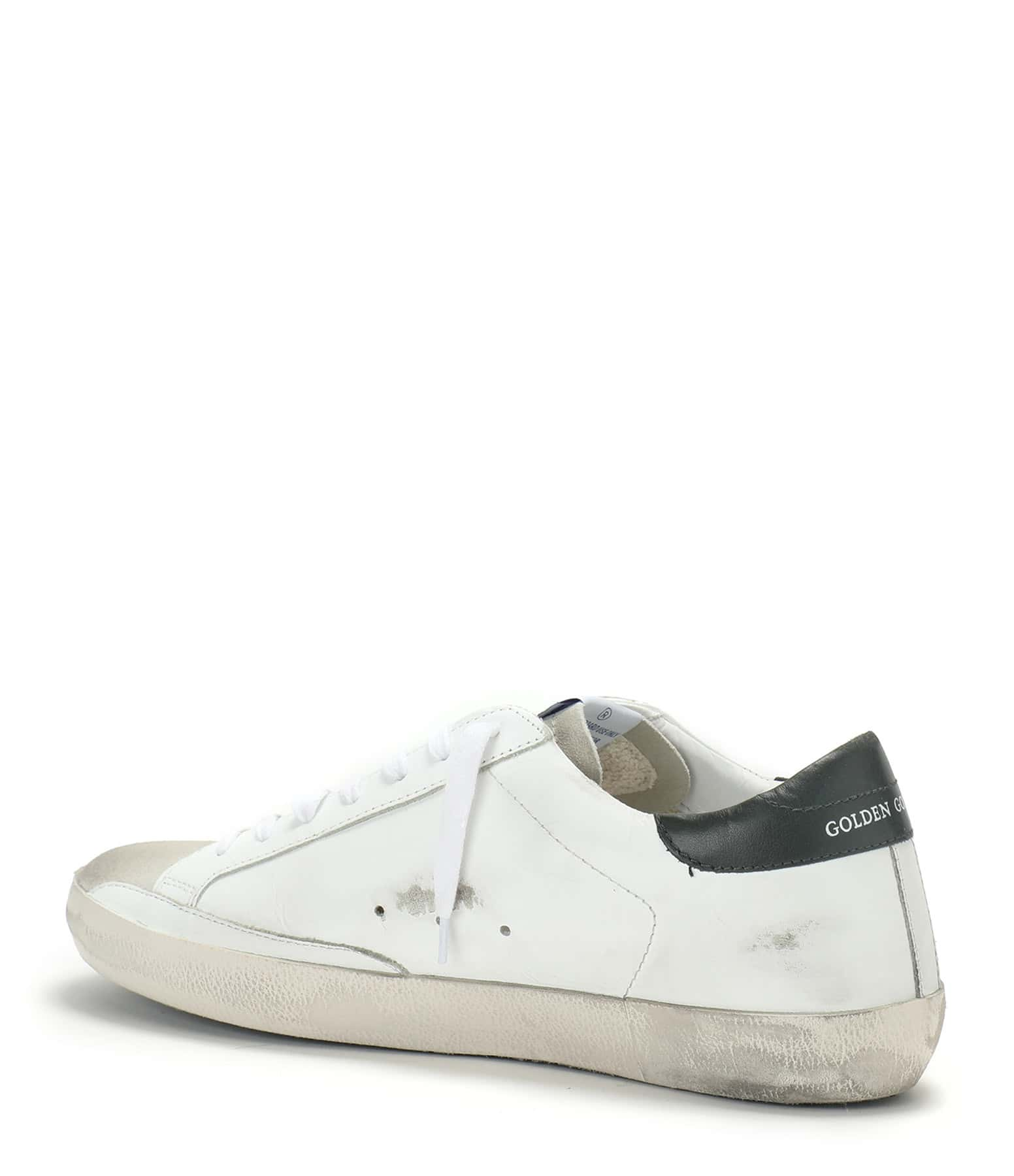 GOLDEN GOOSE - Baskets Homme Superstar Cuir Suédé Ice Army